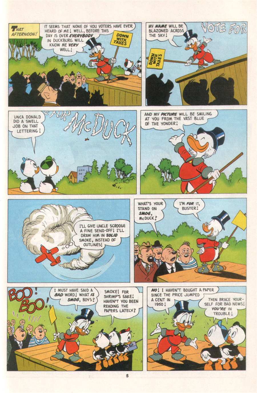 Read online Uncle Scrooge (1953) comic -  Issue #276 - 25
