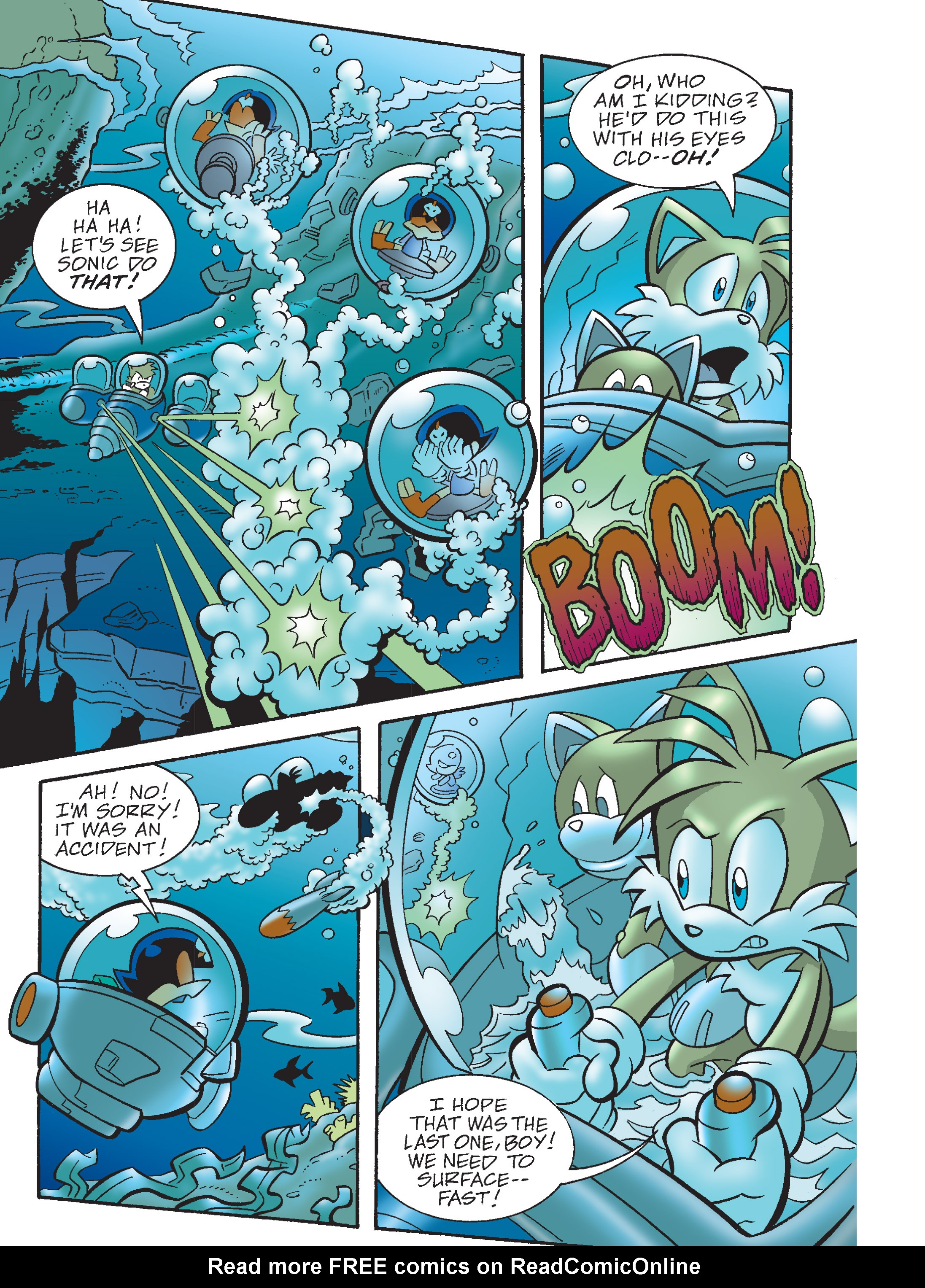 Read online Sonic Super Digest comic -  Issue #8 - 69