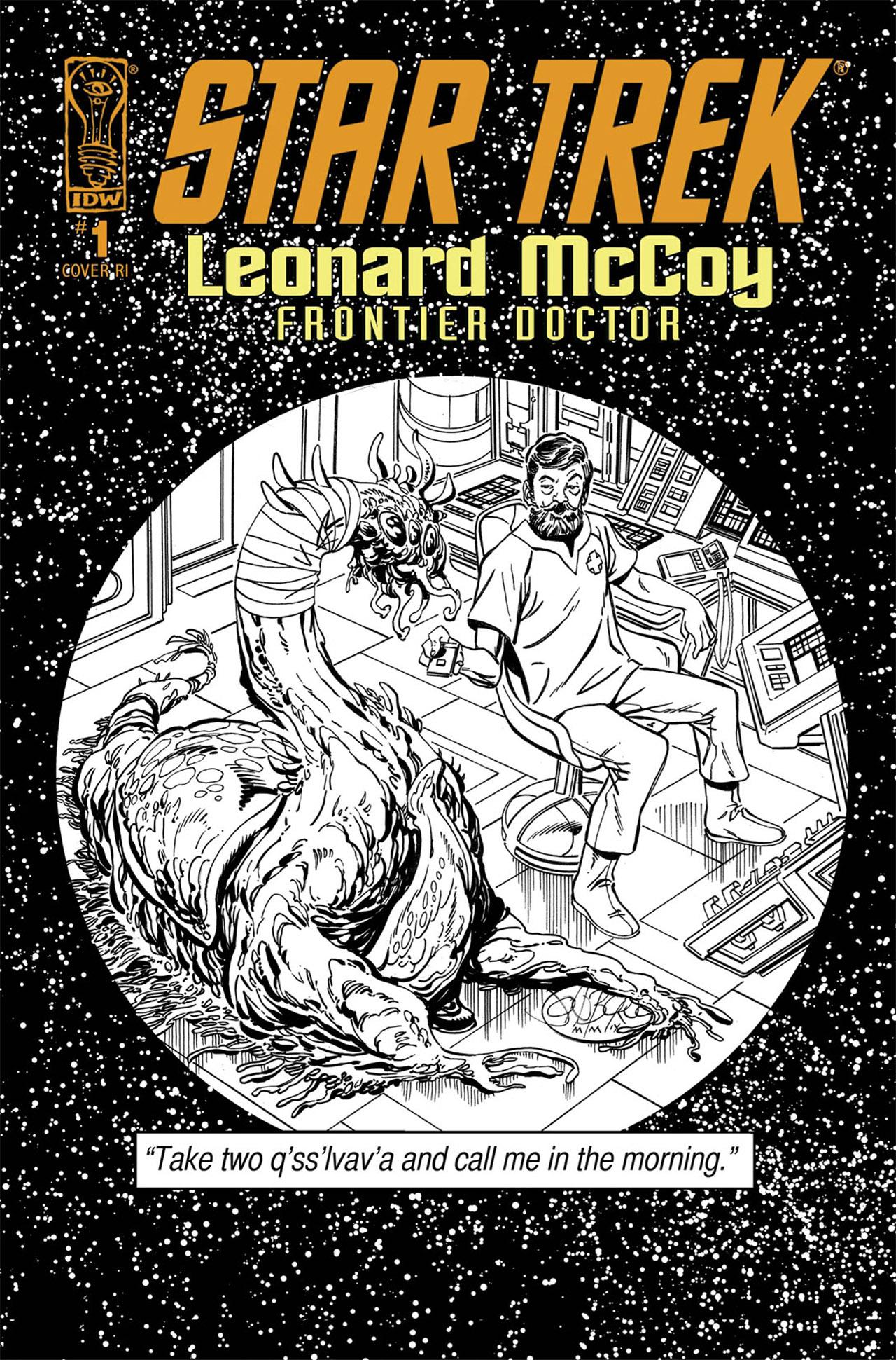 Read online Star Trek: Leonard McCoy, Frontier Doctor comic -  Issue #1 - 3