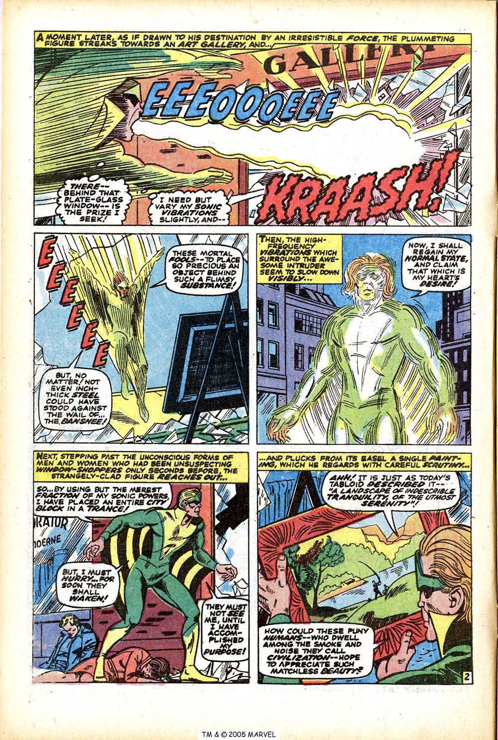 Uncanny X-Men (1963) 76 Page 3