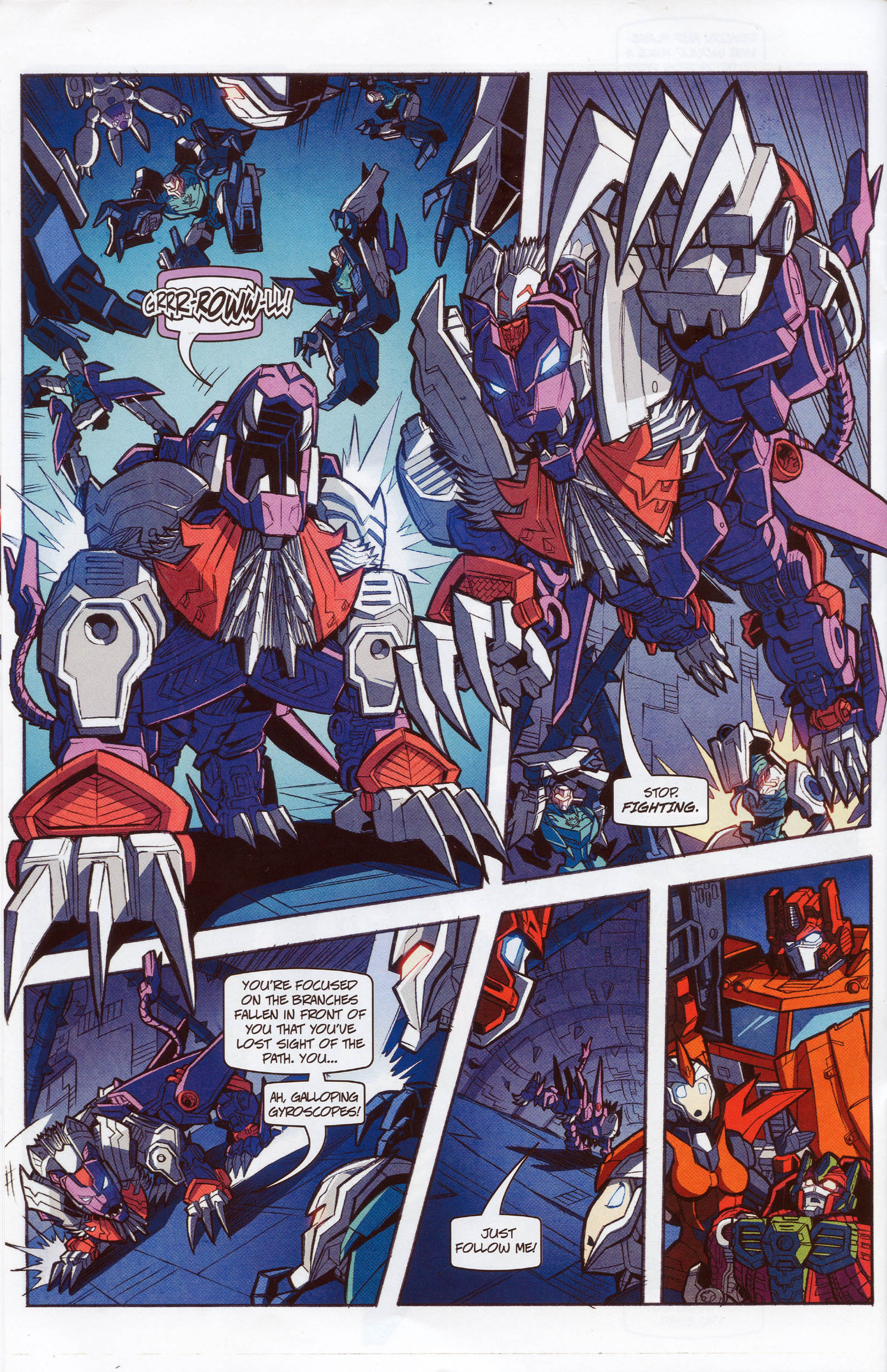 Read online Transformers: Timelines comic -  Issue #10 - 20