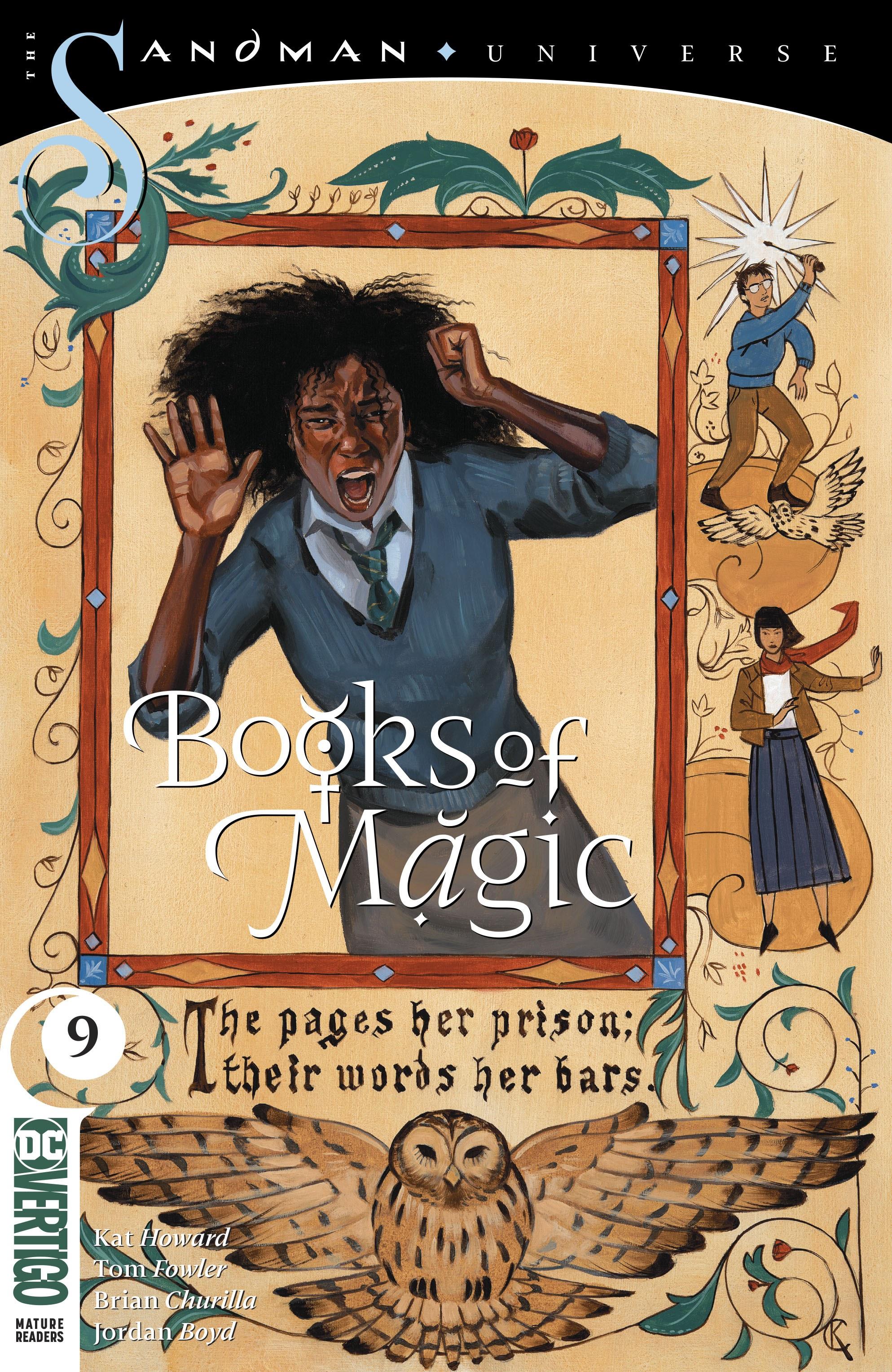 Books of Magic 2018 Issue 9
