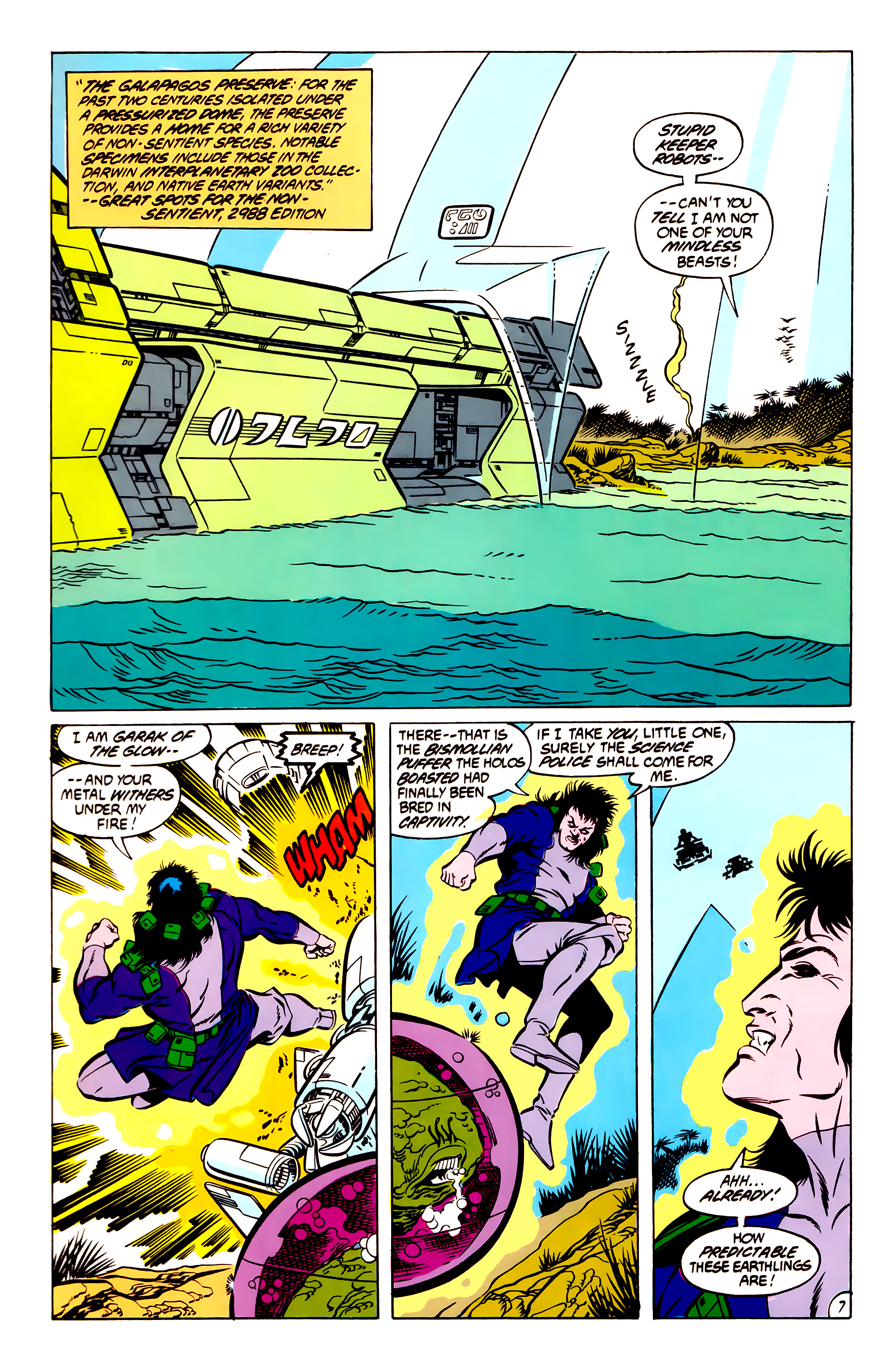 Legion of Super-Heroes (1984) 51 Page 7