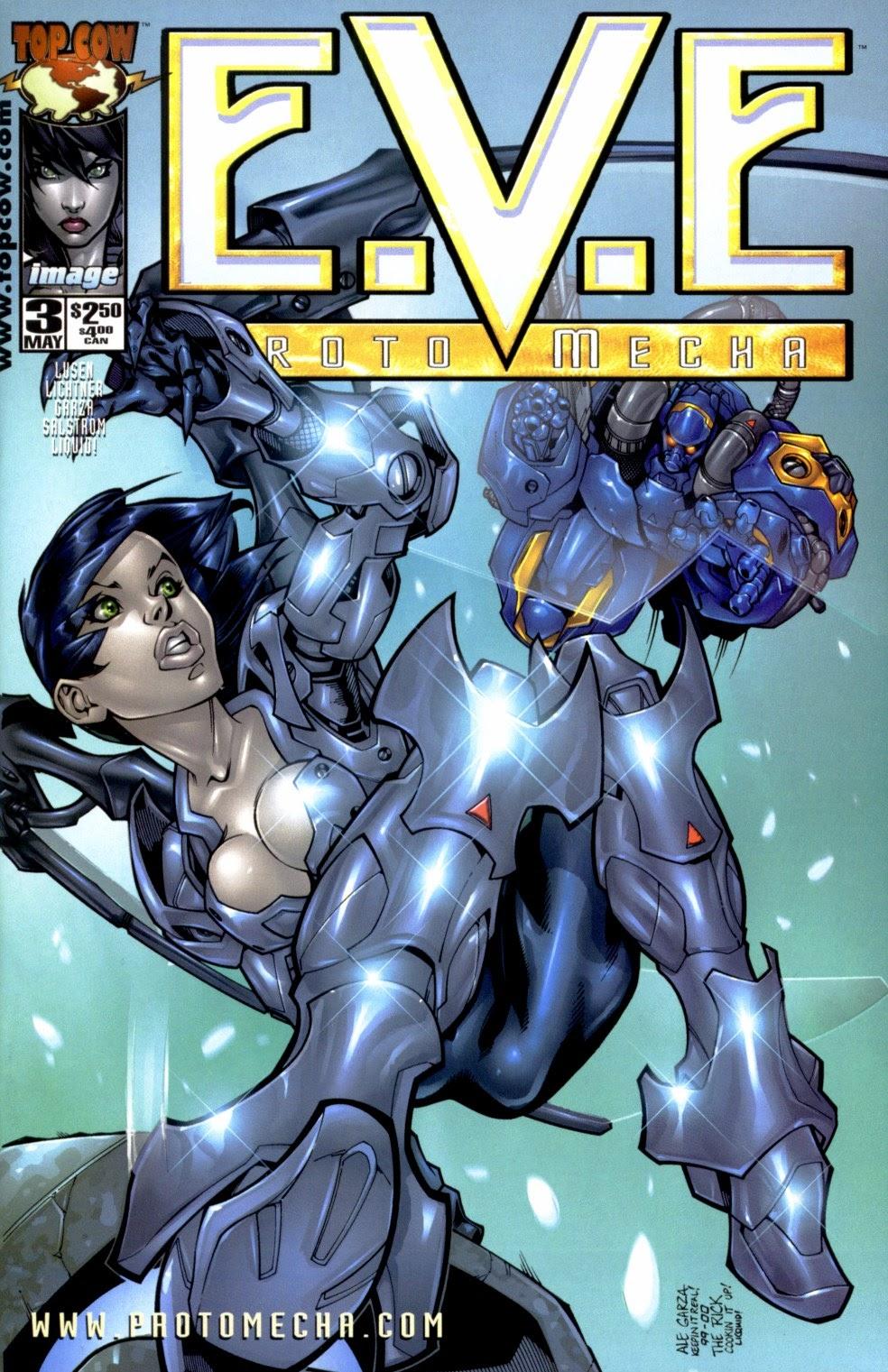 E.V.E. ProtoMecha issue 3 - Page 1