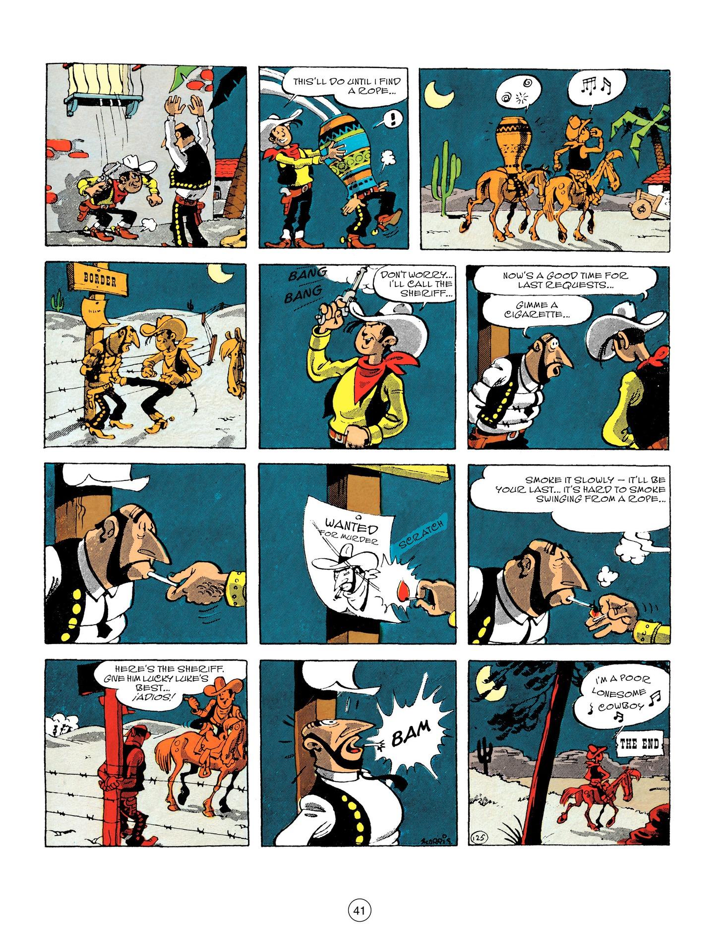 Read online A Lucky Luke Adventure comic -  Issue #55 - 41