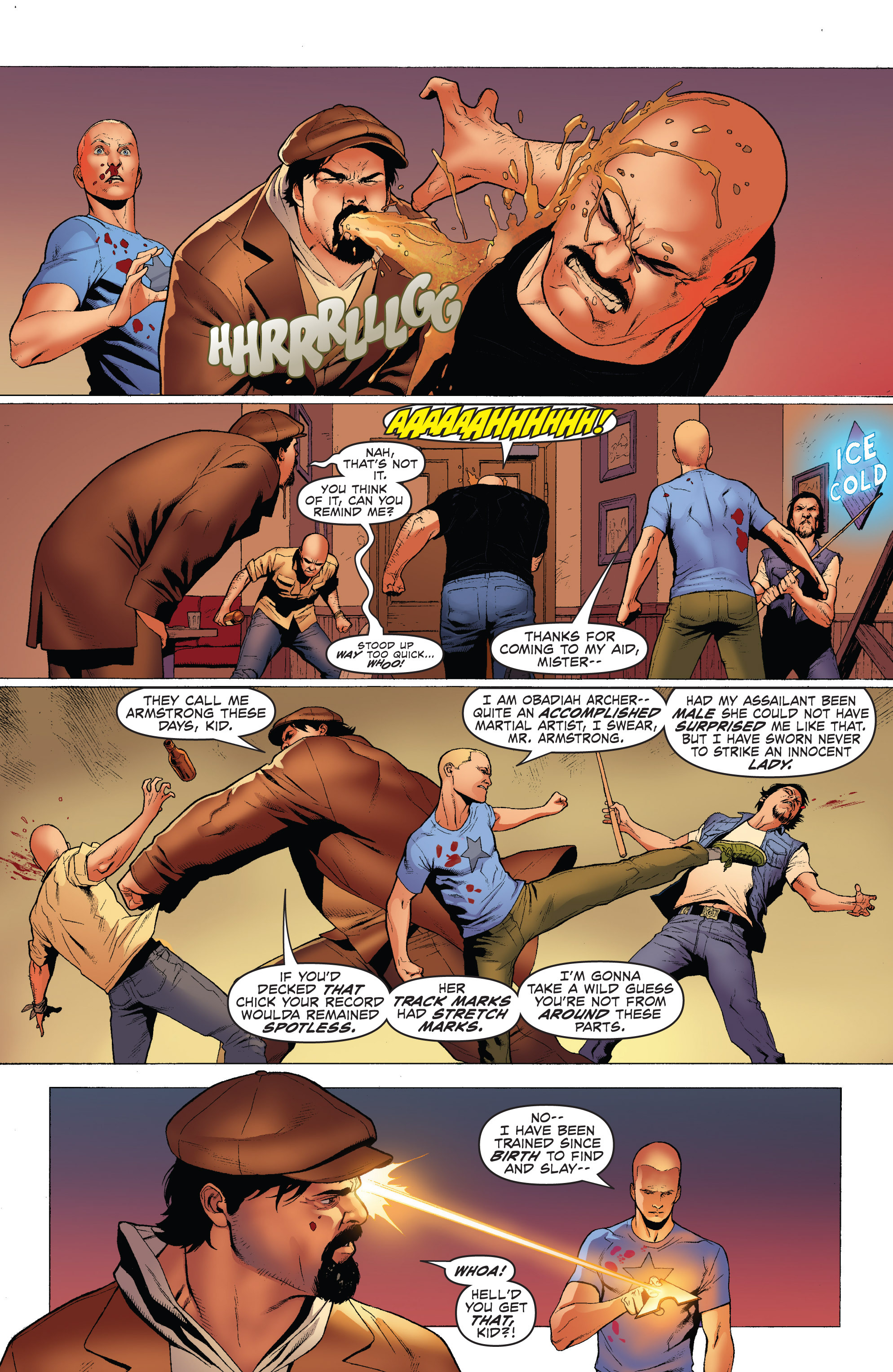 Read online Archer and Armstrong comic -  Issue #Archer and Armstrong _TPB 1 - 23
