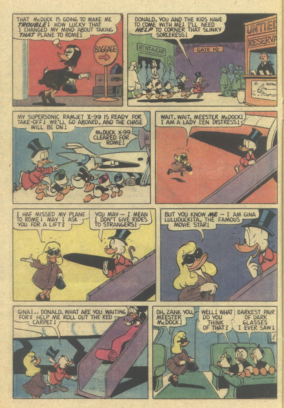 Read online Uncle Scrooge (1953) comic -  Issue #207 - 8