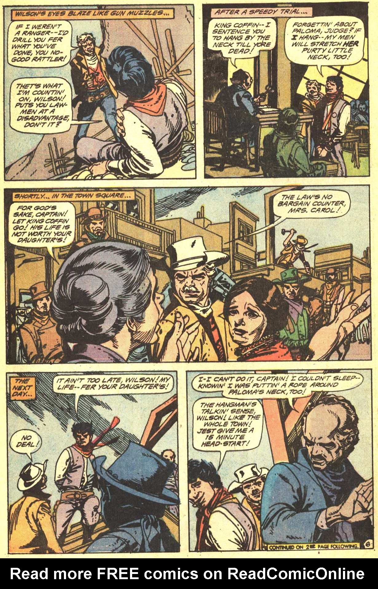 Read online All-Star Western (1970) comic -  Issue #4 - 8