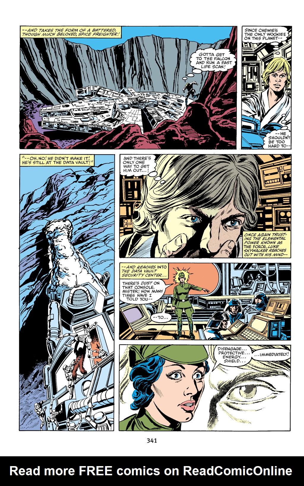 Read online Star Wars Omnibus comic -  Issue # Vol. 16 - 335