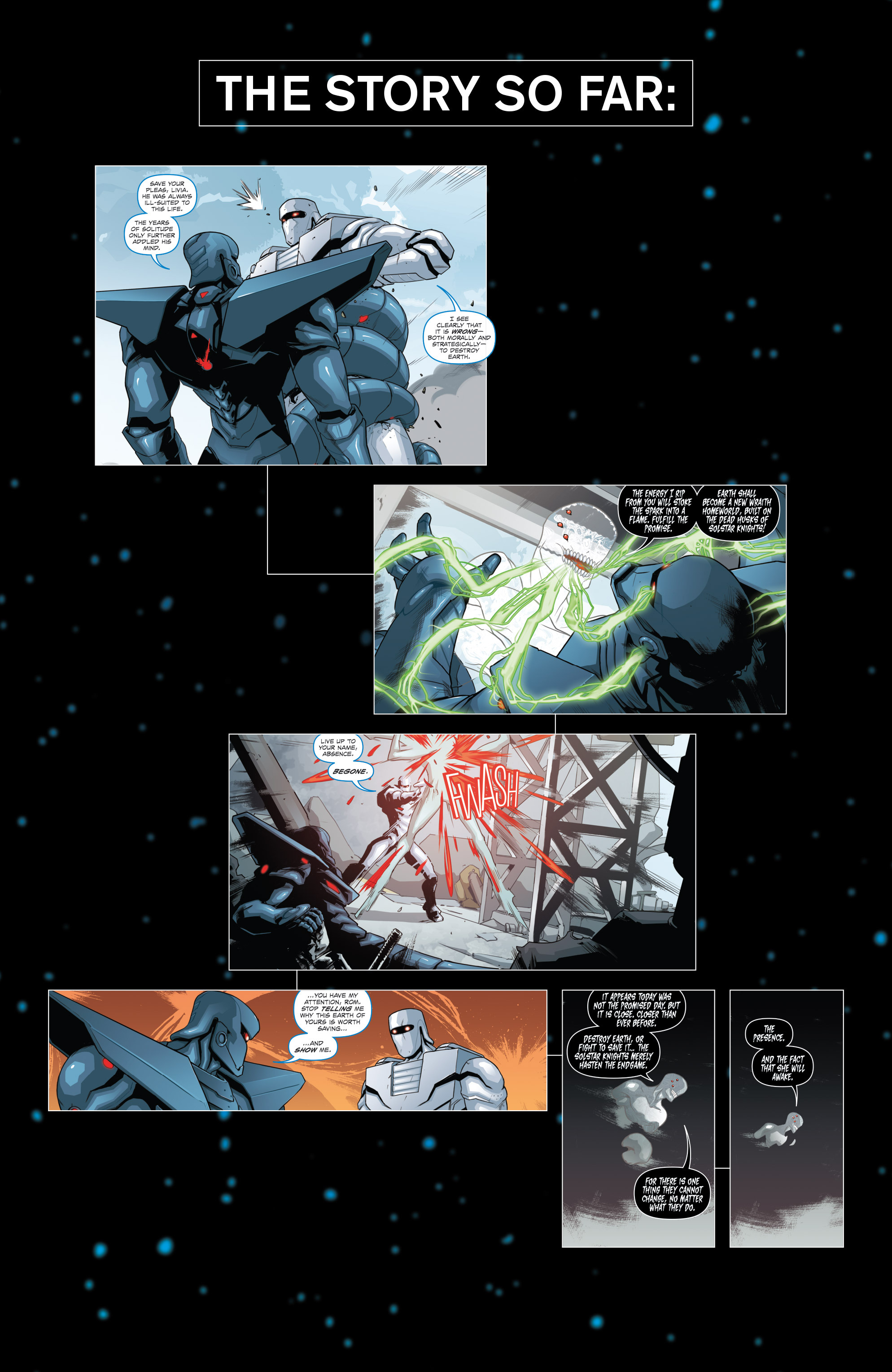 Read online ROM (2016) comic -  Issue #10 - 3