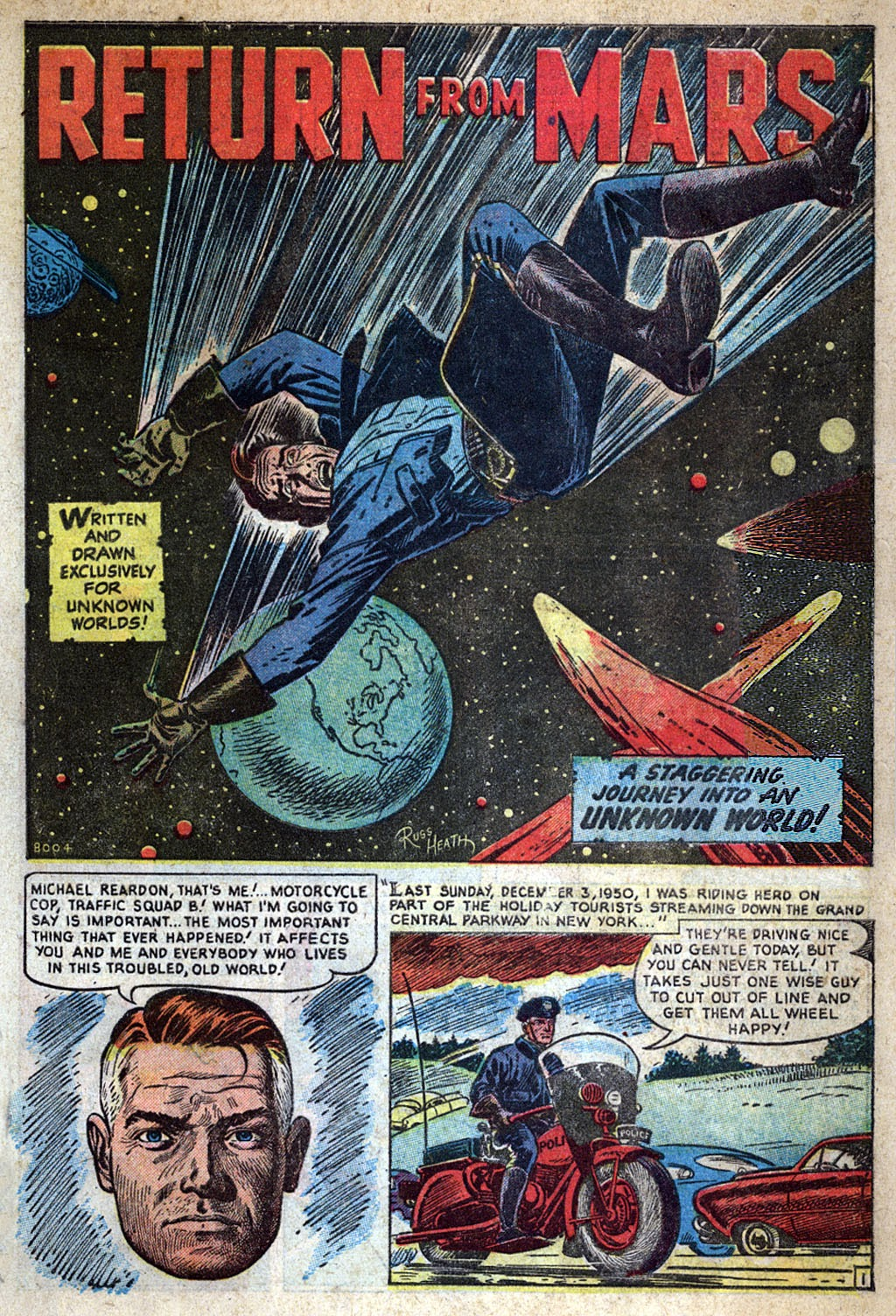 Journey Into Unknown Worlds (1950) issue 4 - Page 3
