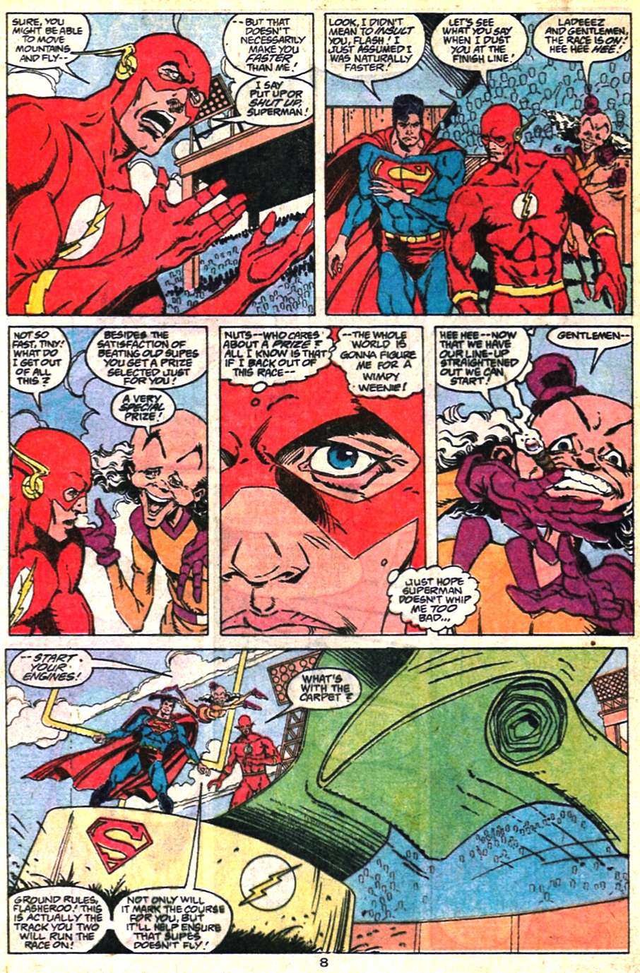 Read online Adventures of Superman (1987) comic -  Issue #463 - 8