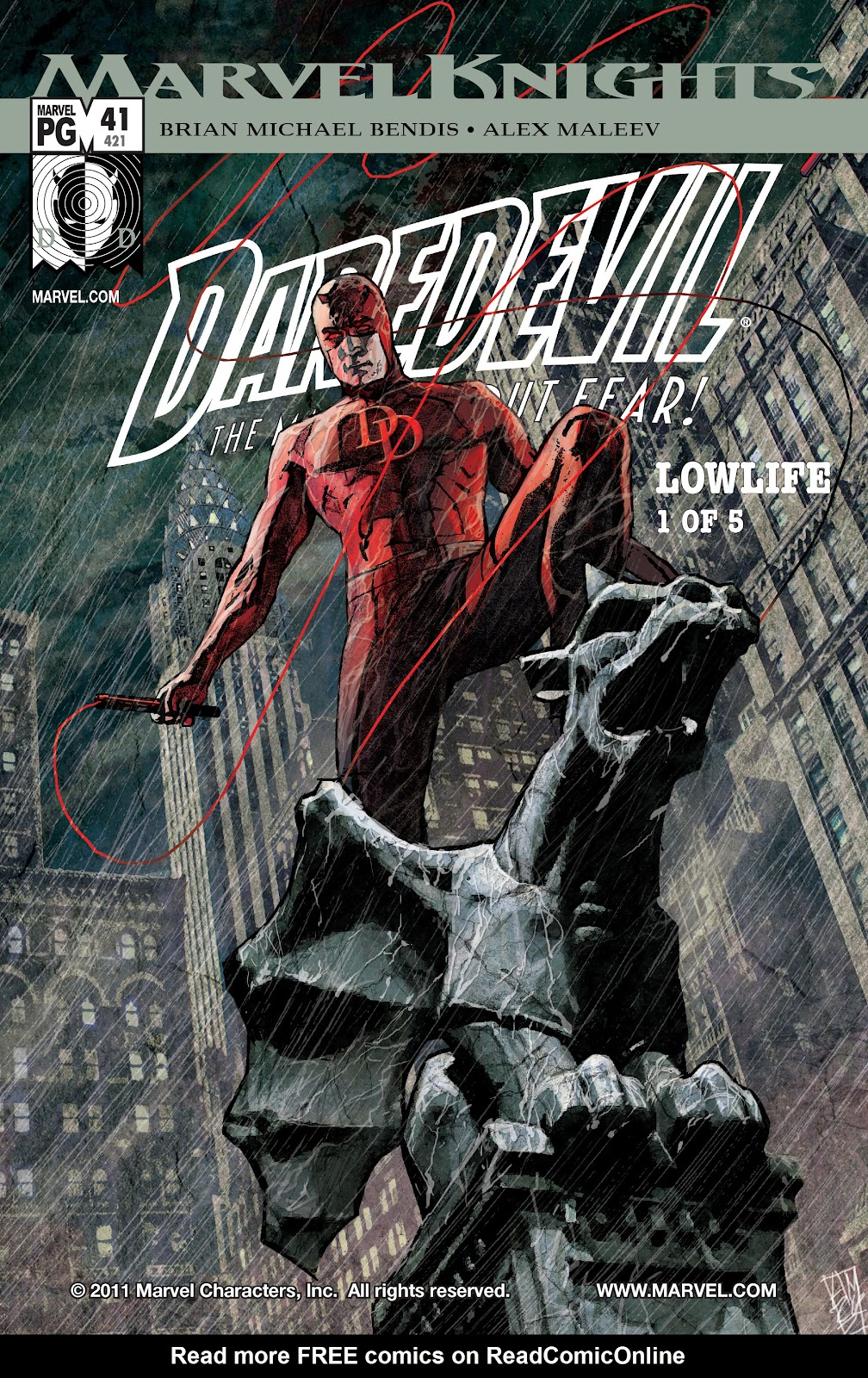 Read online Daredevil (1998) comic -  Issue # _Ultimate_Collection TPB 2 (Part 1) - 3