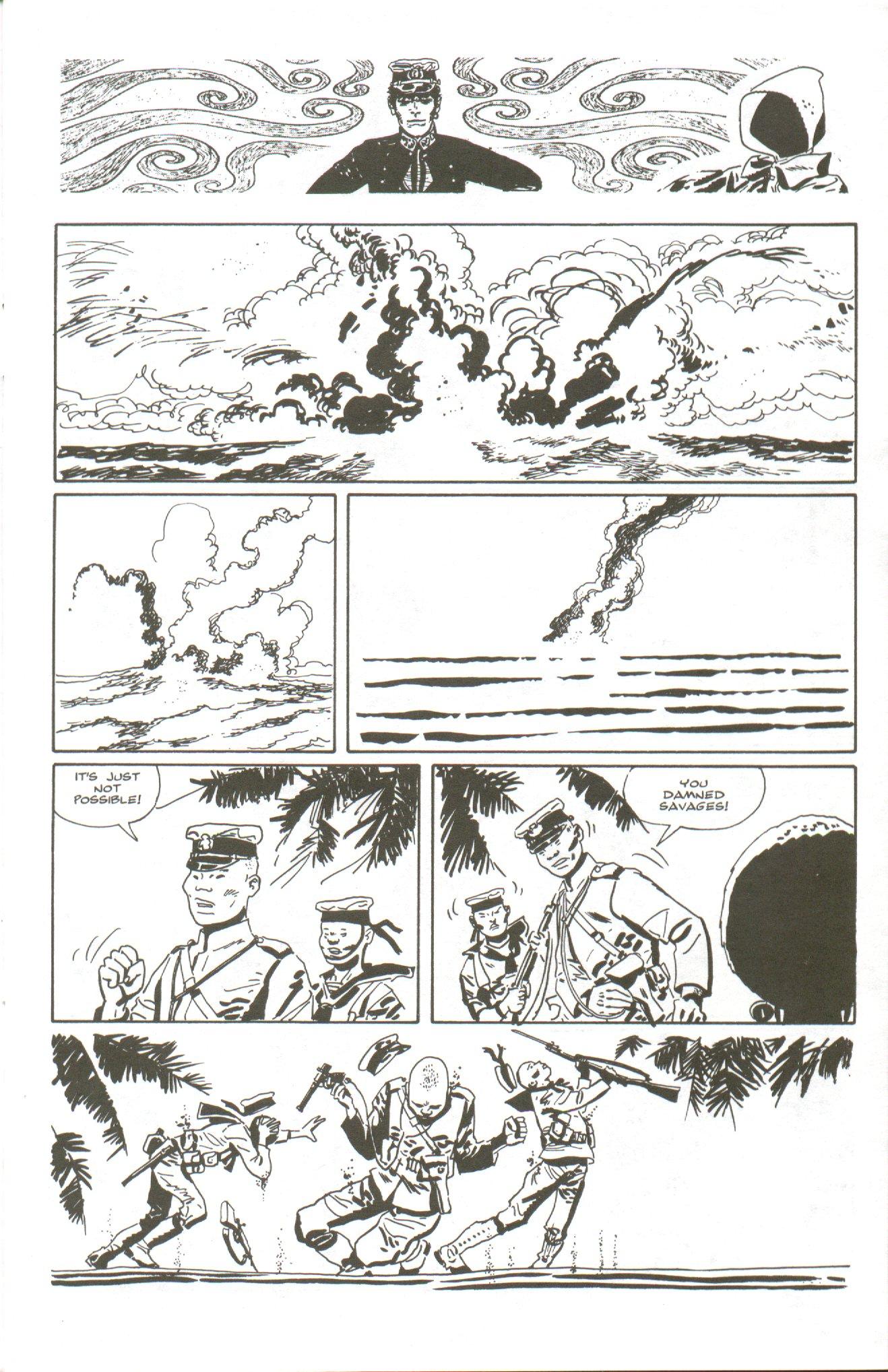 Read online Corto Maltese: Ballad of the Salt Sea comic -  Issue #5 - 9