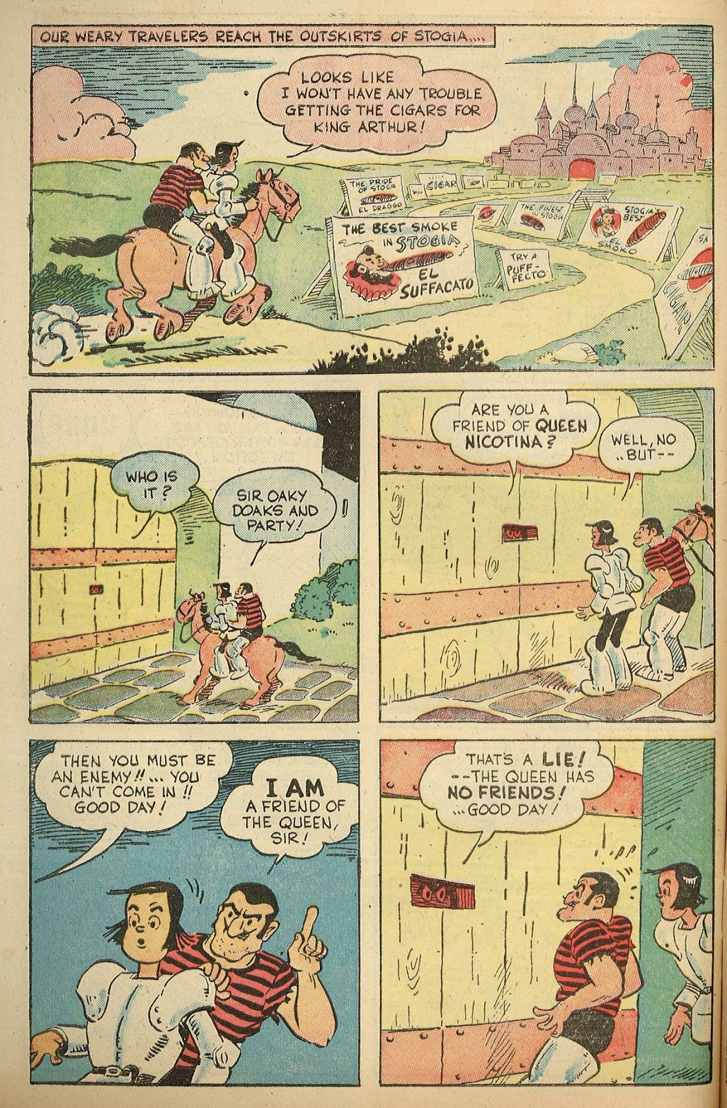 Read online Famous Funnies comic -  Issue #148 - 46