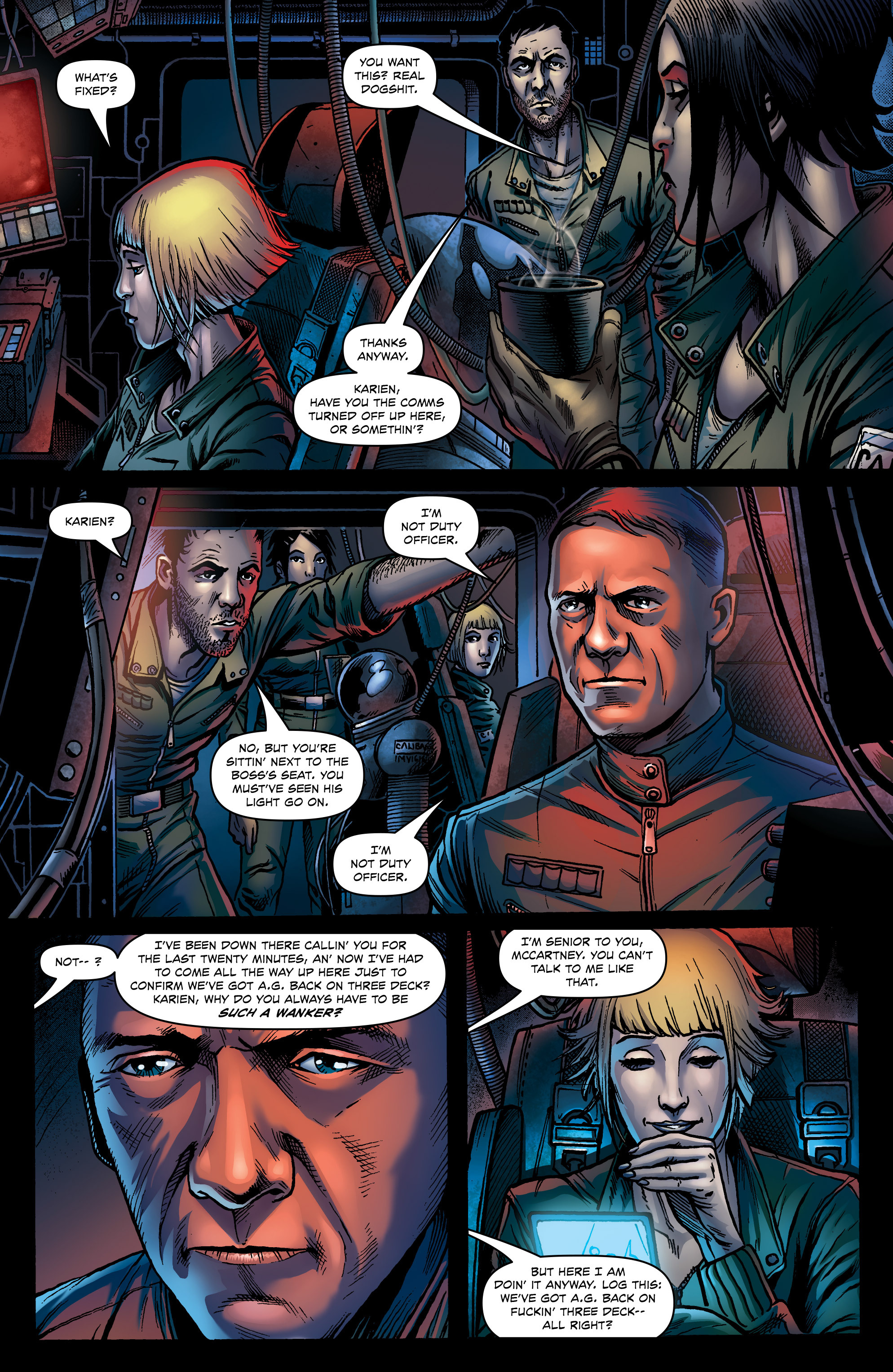 Read online Caliban comic -  Issue #1 - 13