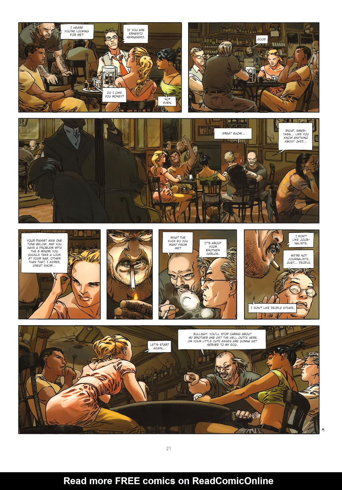 Read online Cutting Edge (2013) comic -  Issue #1 - 19