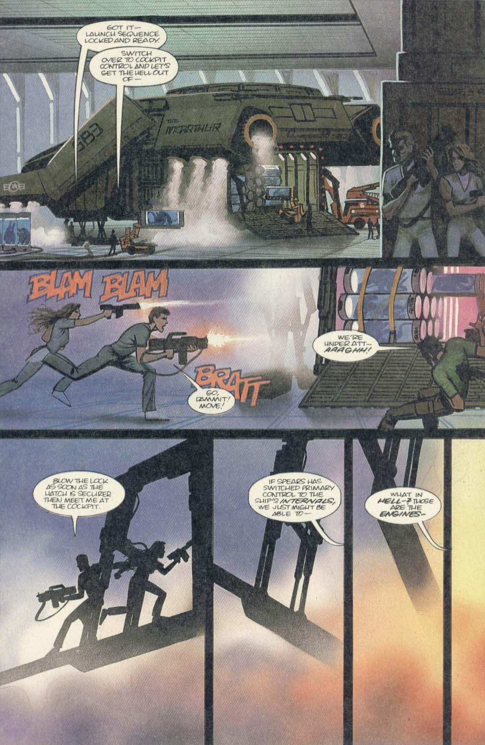 Read online Aliens (1989) comic -  Issue #4 - 11