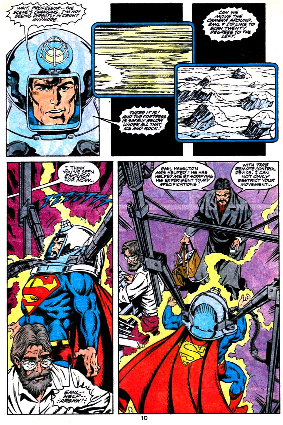 Read online Adventures of Superman (1987) comic -  Issue #484 - 11