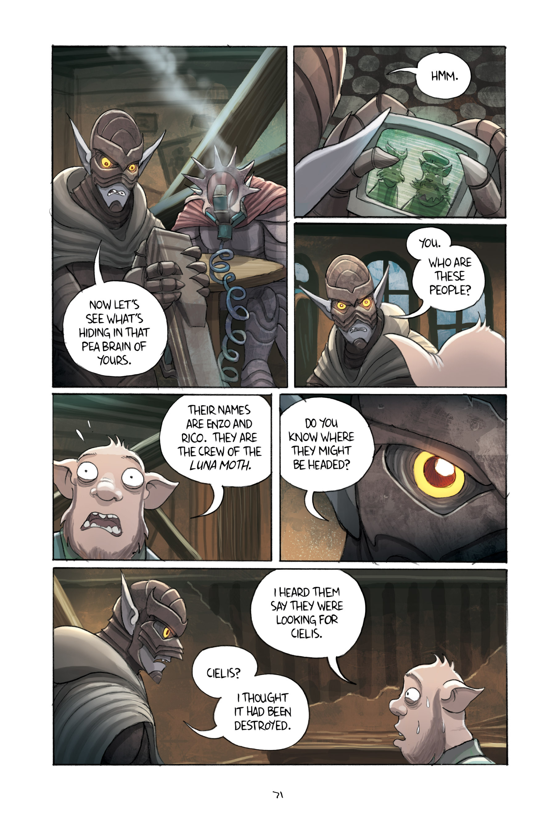 Read online Amulet comic -  Issue #3 - 69