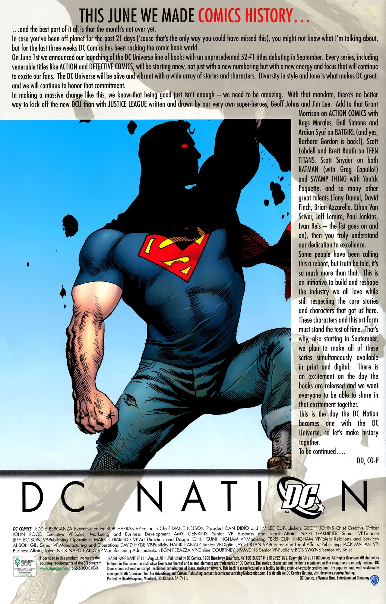 Read online JSA 80-Page Giant 2011 comic -  Issue # Full - 72