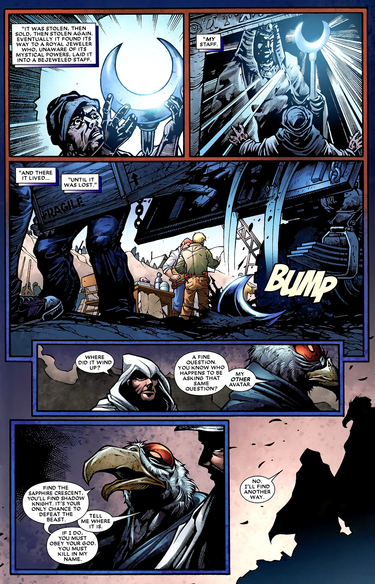 Read online Shadowland: Moon Knight comic -  Issue #2 - 14