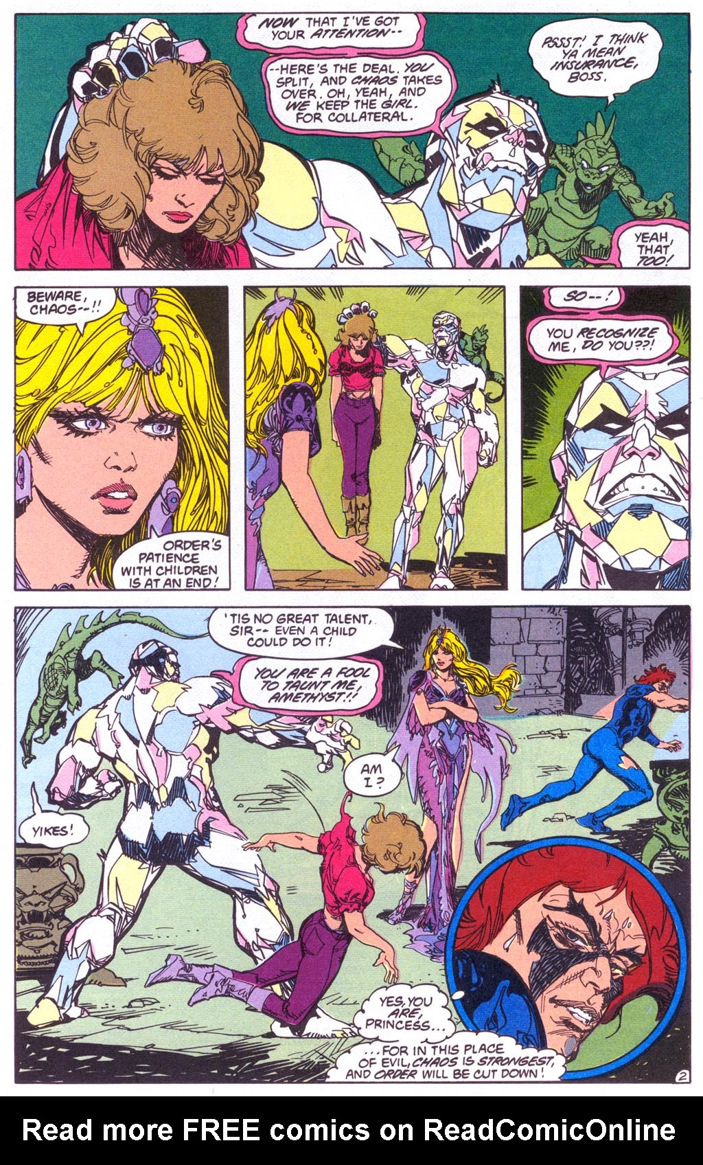 Read online Amethyst (1987) comic -  Issue #3 - 4