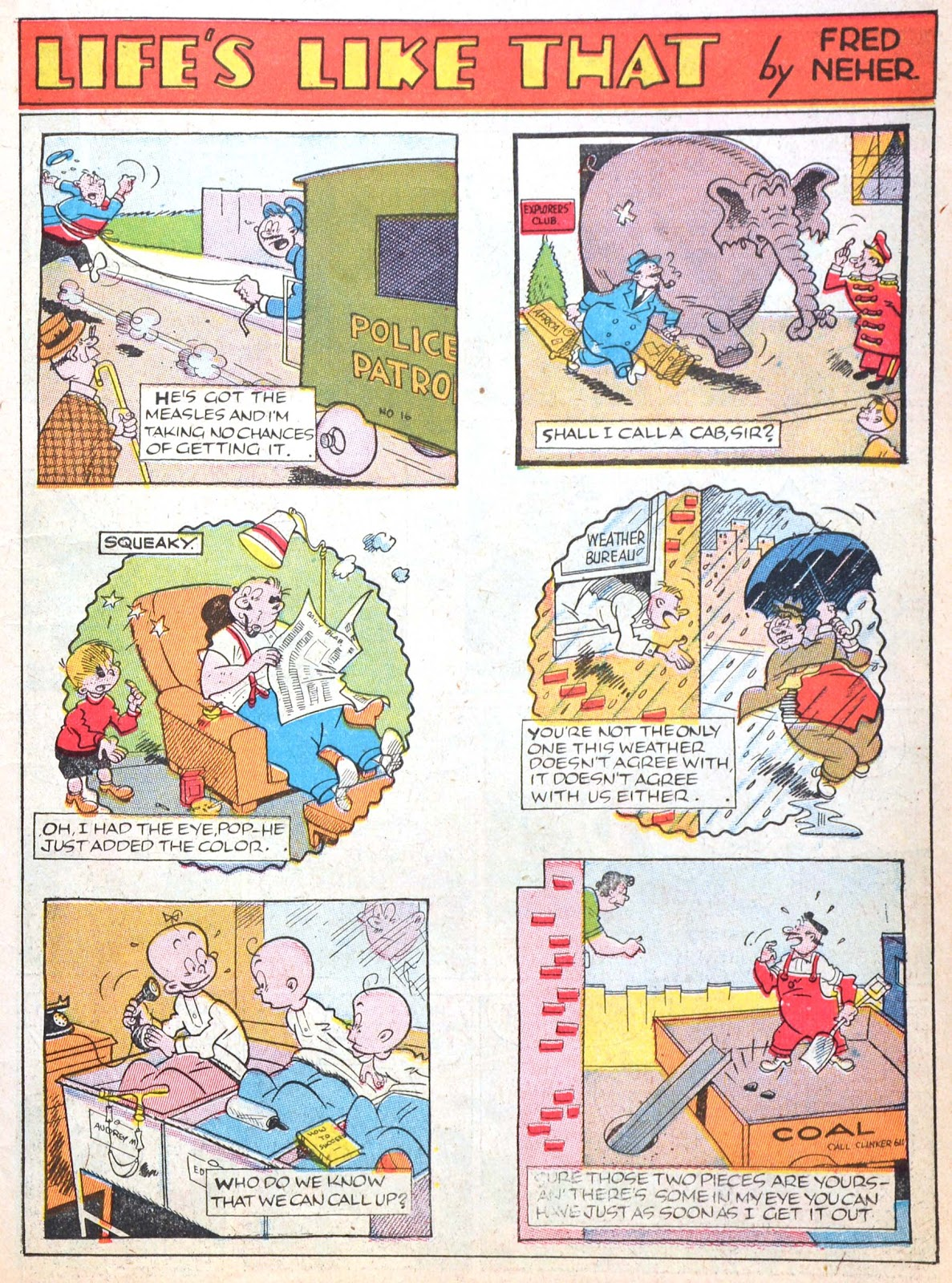 Read online Famous Funnies comic -  Issue #52 - 21