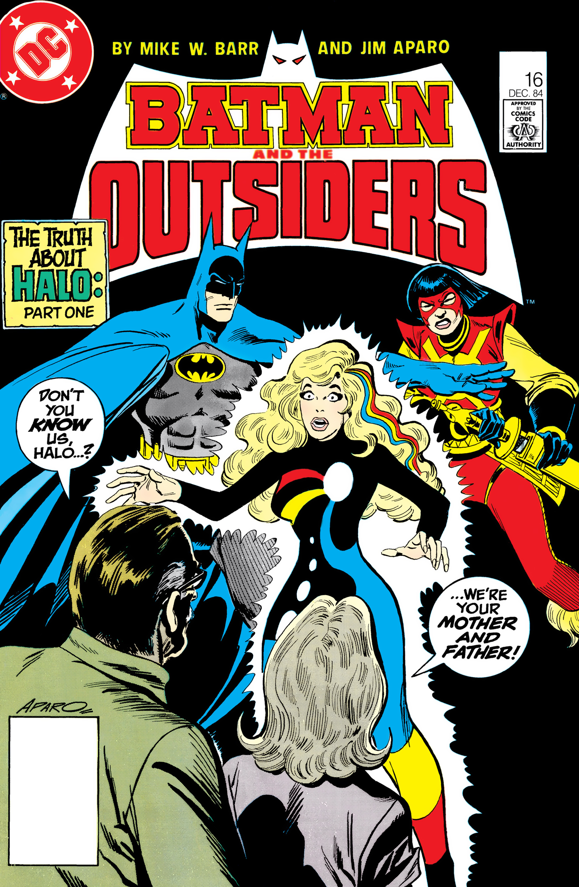 Batman and the Outsiders (1983) 16 Page 1