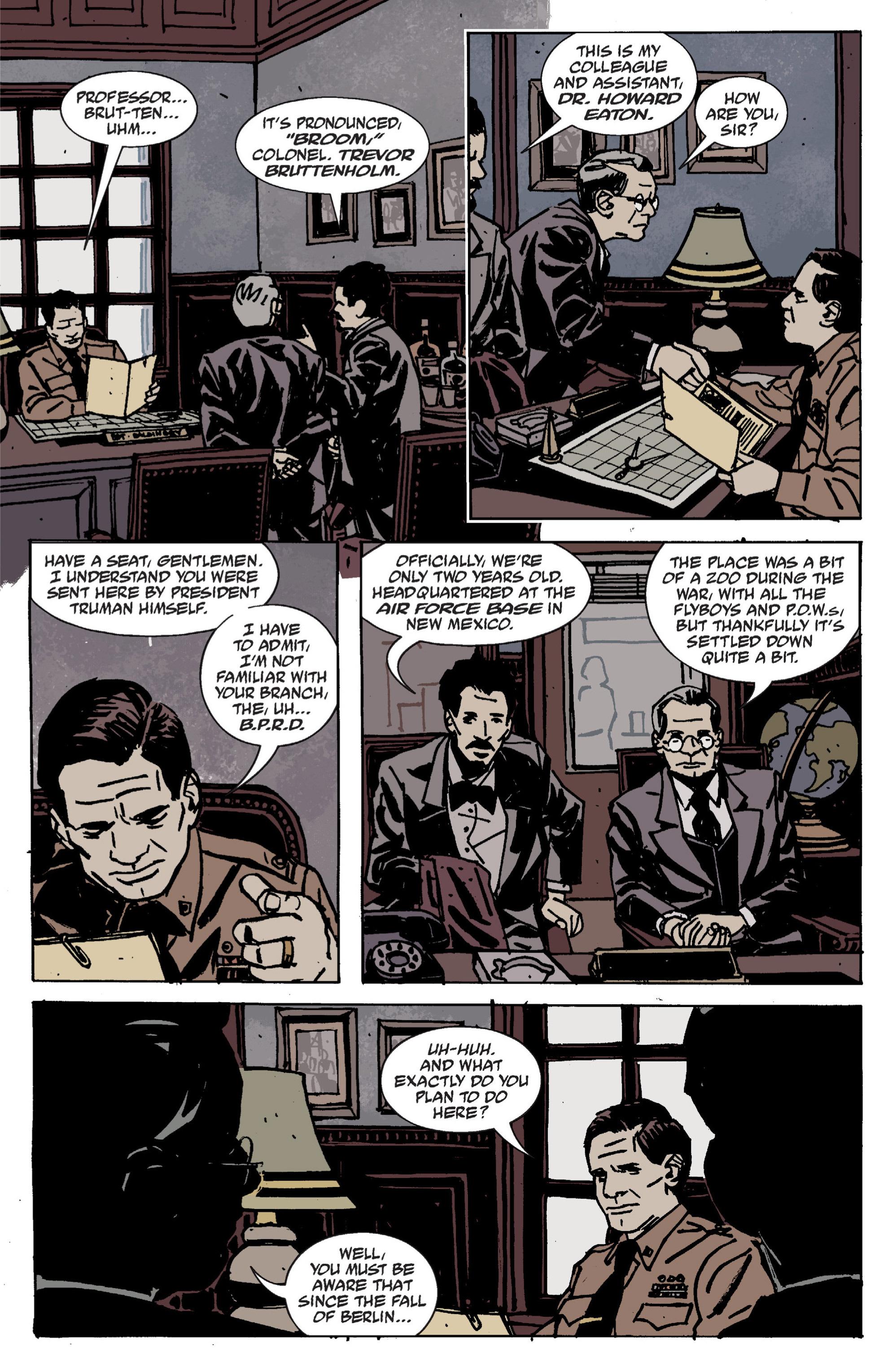 Read online B.P.R.D. (2003) comic -  Issue # TPB 9 - 15