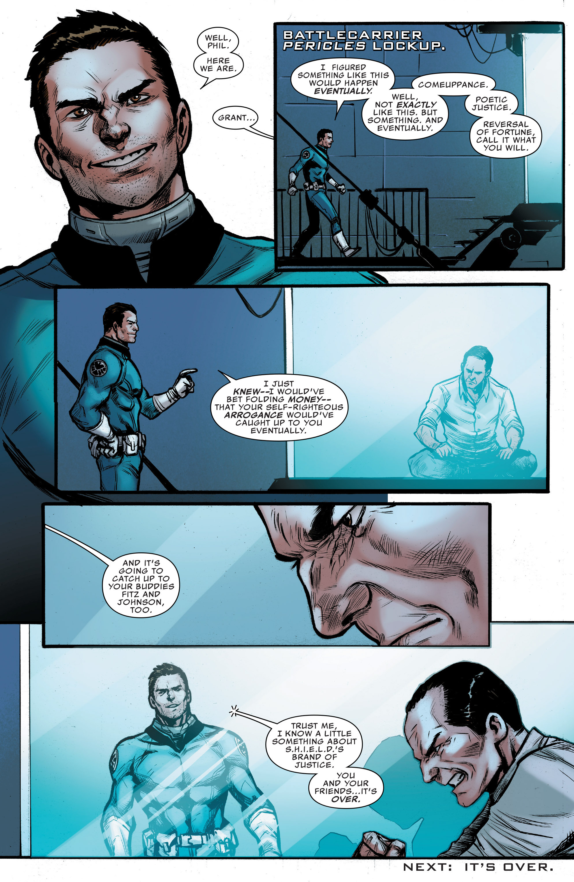 Read online Agents of S.H.I.E.L.D. comic -  Issue #9 - 22