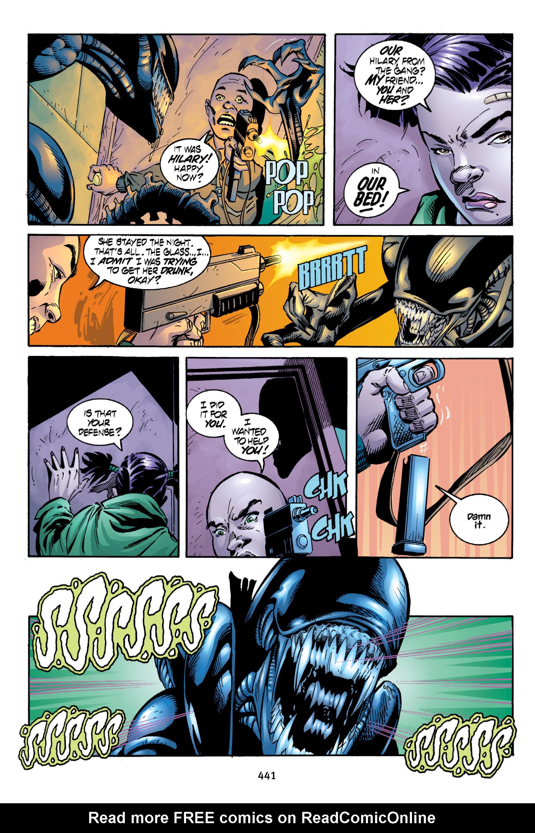 Read online Aliens vs. Predator Omnibus comic -  Issue # _TPB 2 Part 4 - 103