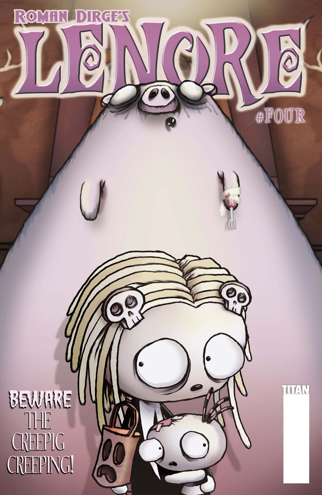 Lenore (2009) issue 4 - Page 1