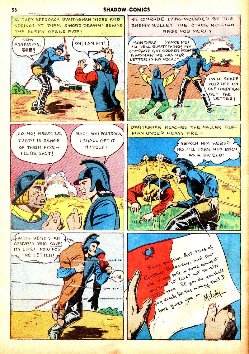 Read online Shadow Comics comic -  Issue #7 - 49