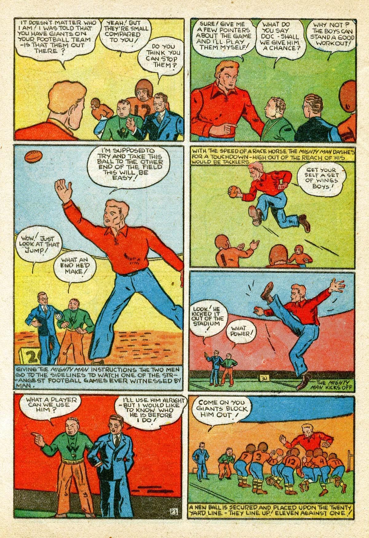 Read online Amazing Man Comics comic -  Issue #8 - 54