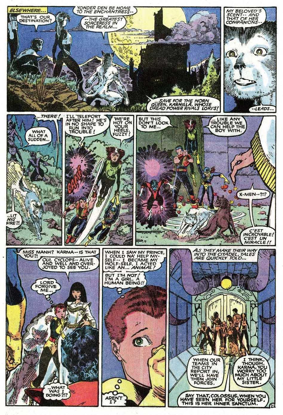 Read online Uncanny X-Men (1963) comic -  Issue # _Annual 9 - 24