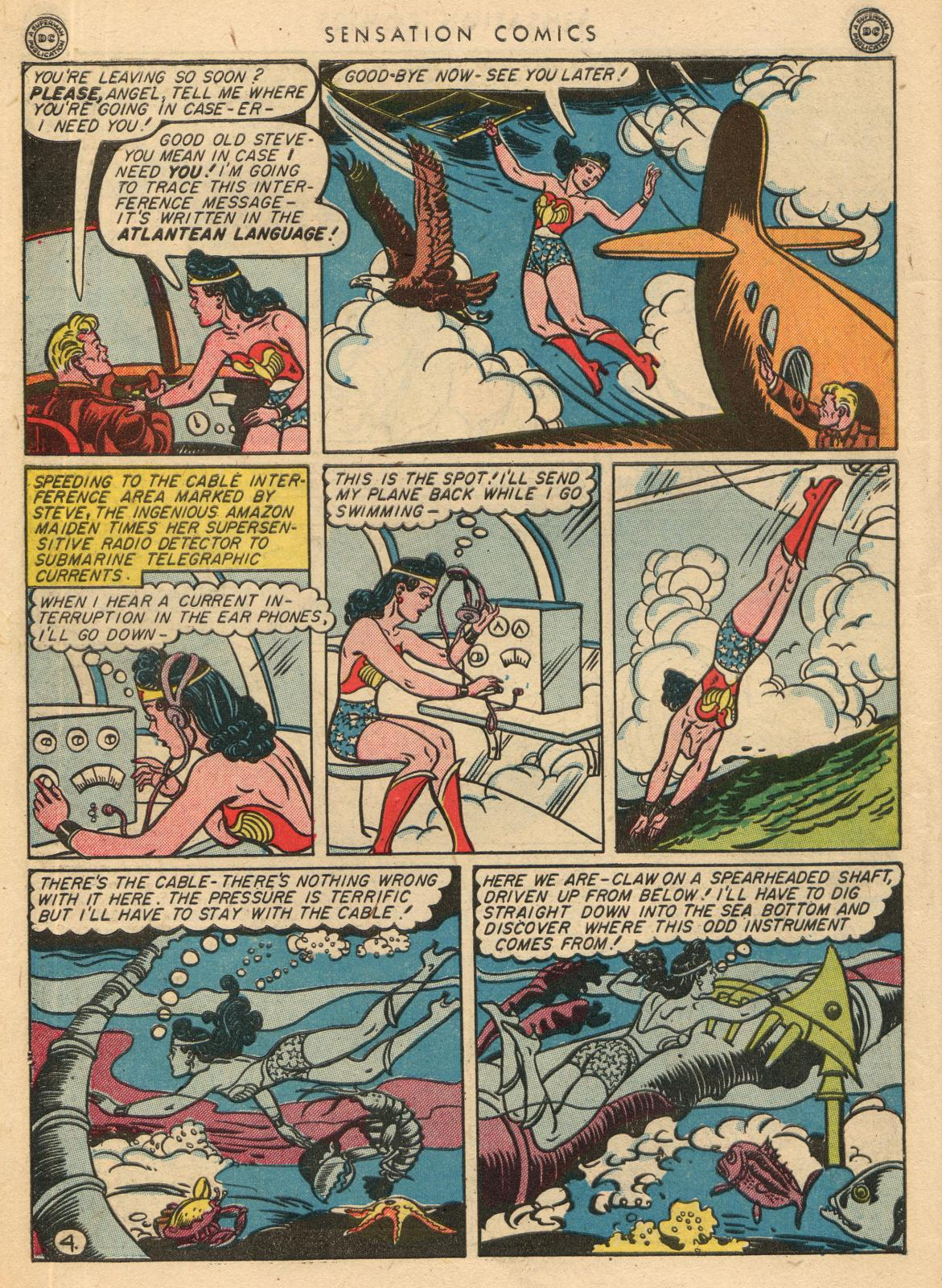 Read online Sensation (Mystery) Comics comic -  Issue #35 - 6