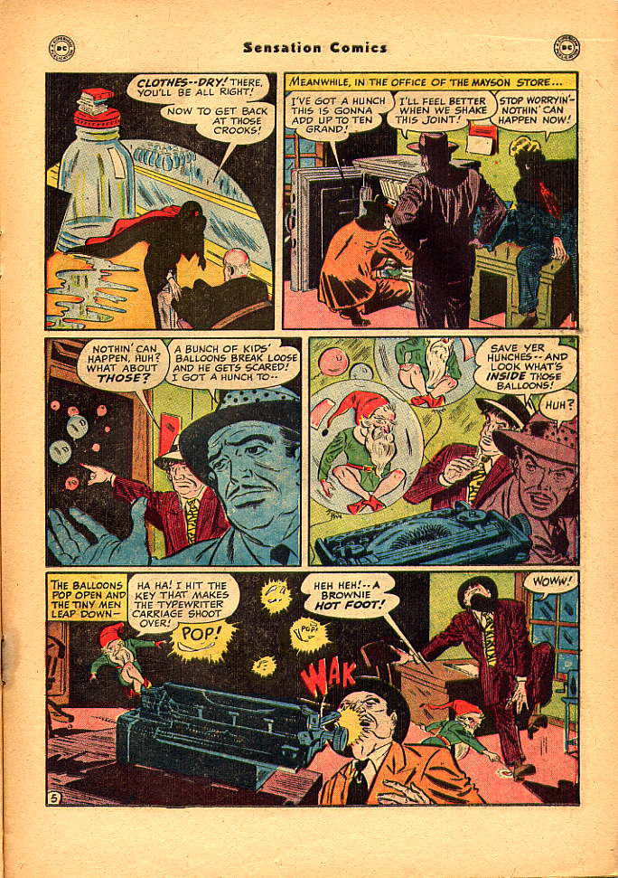 Read online Sensation (Mystery) Comics comic -  Issue #83 - 21