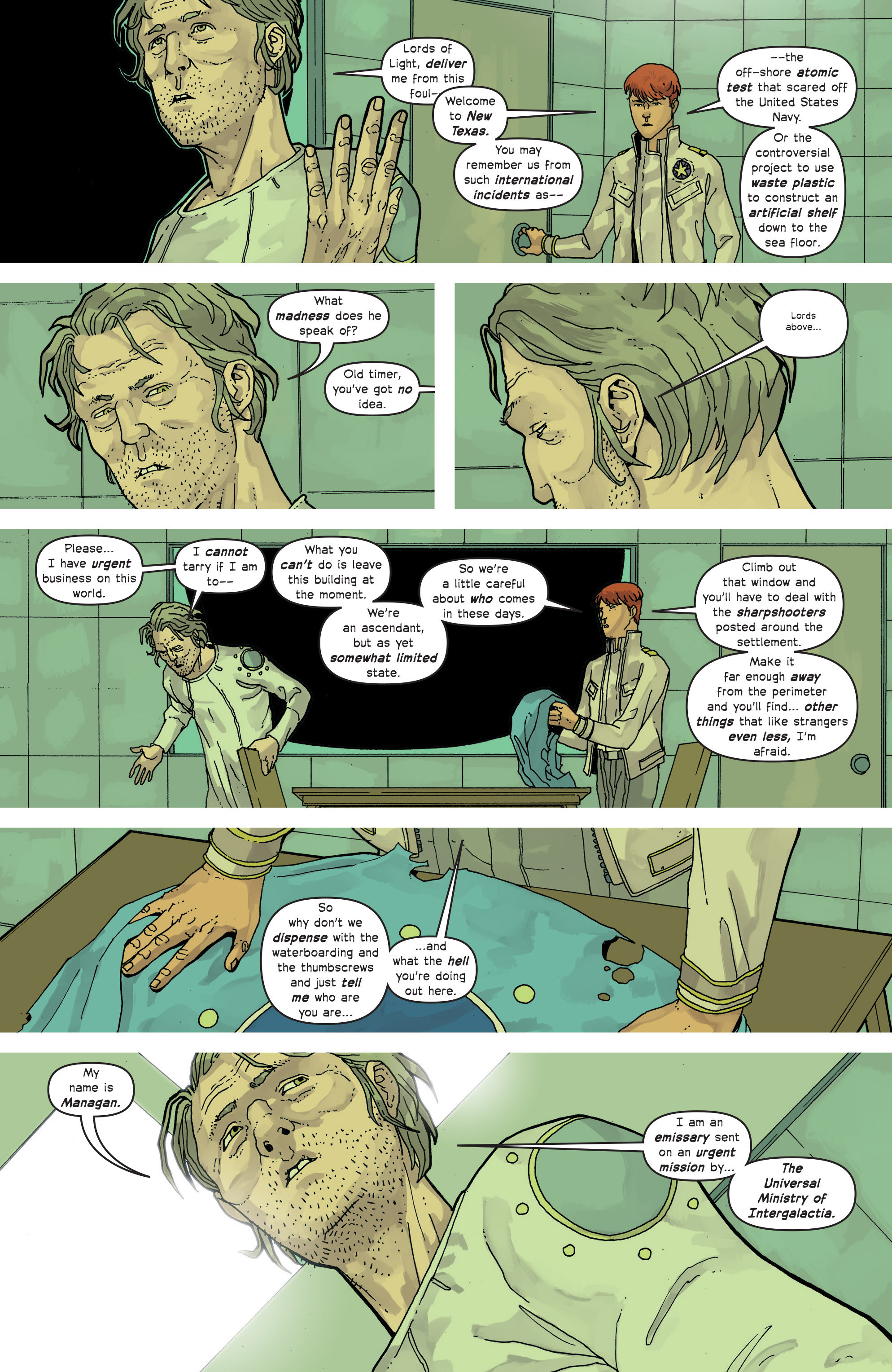 Read online Great Pacific comic -  Issue #13 - 9