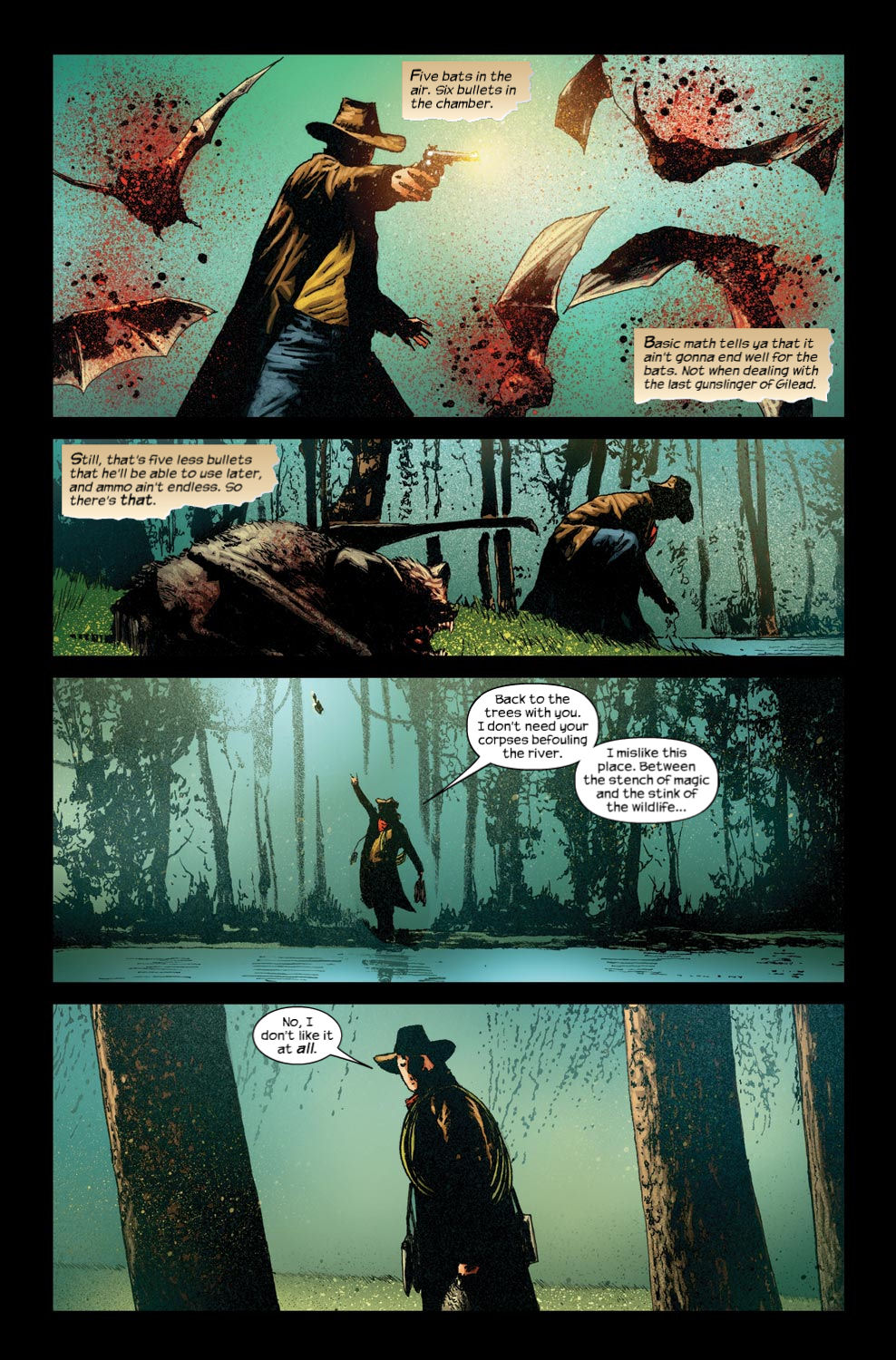 Read online Dark Tower: The Gunslinger - The Way Station comic -  Issue #4 - 14
