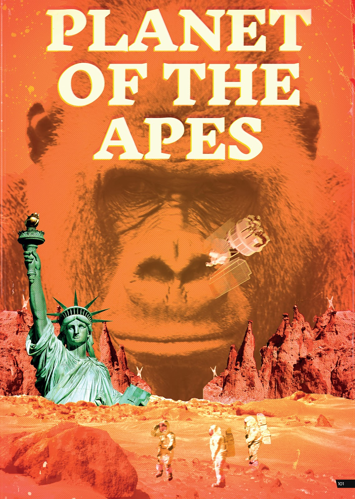 Read online Planet of the Apes Artist Tribute comic -  Issue # TPB - 101