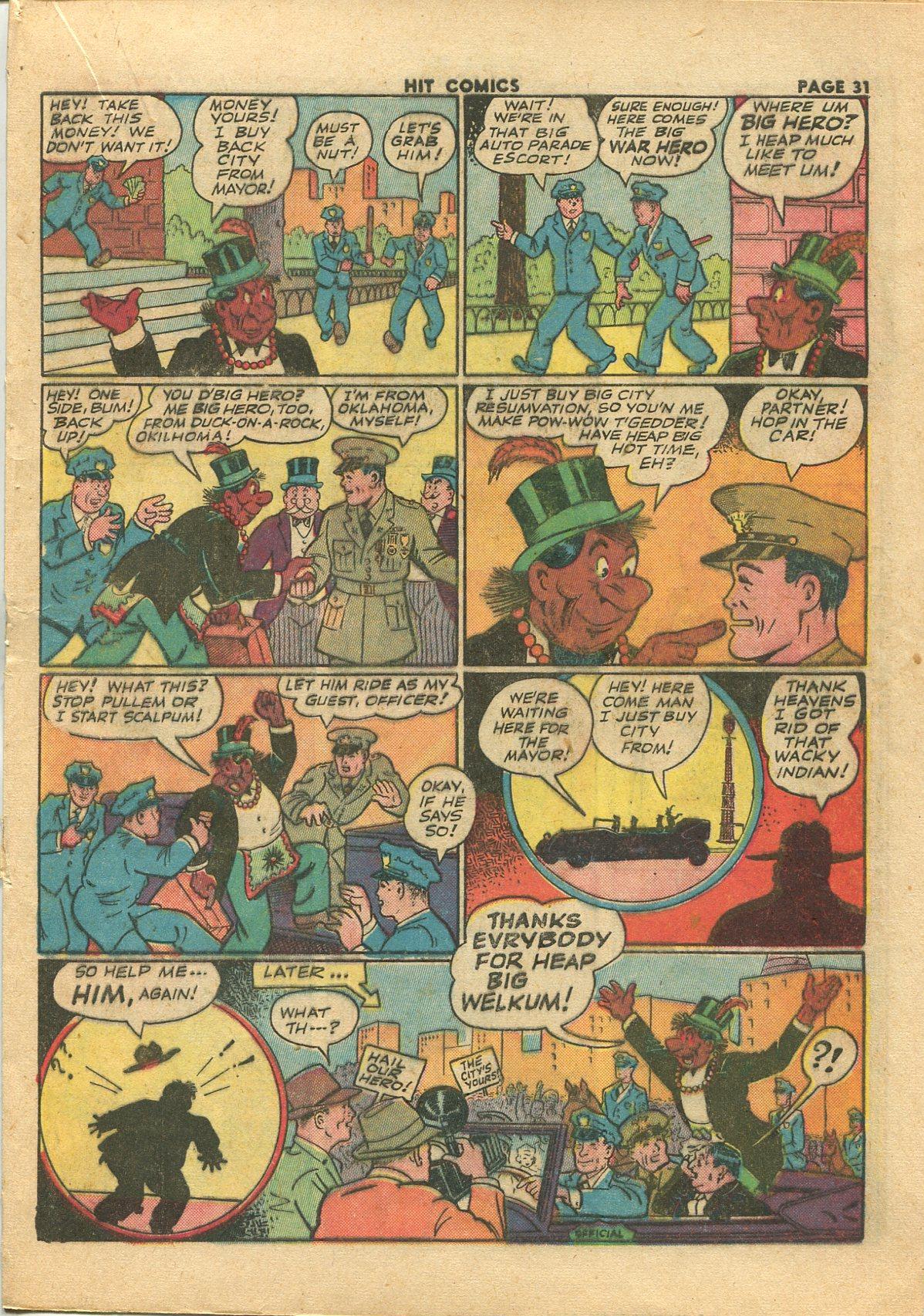Read online Hit Comics comic -  Issue #28 - 34