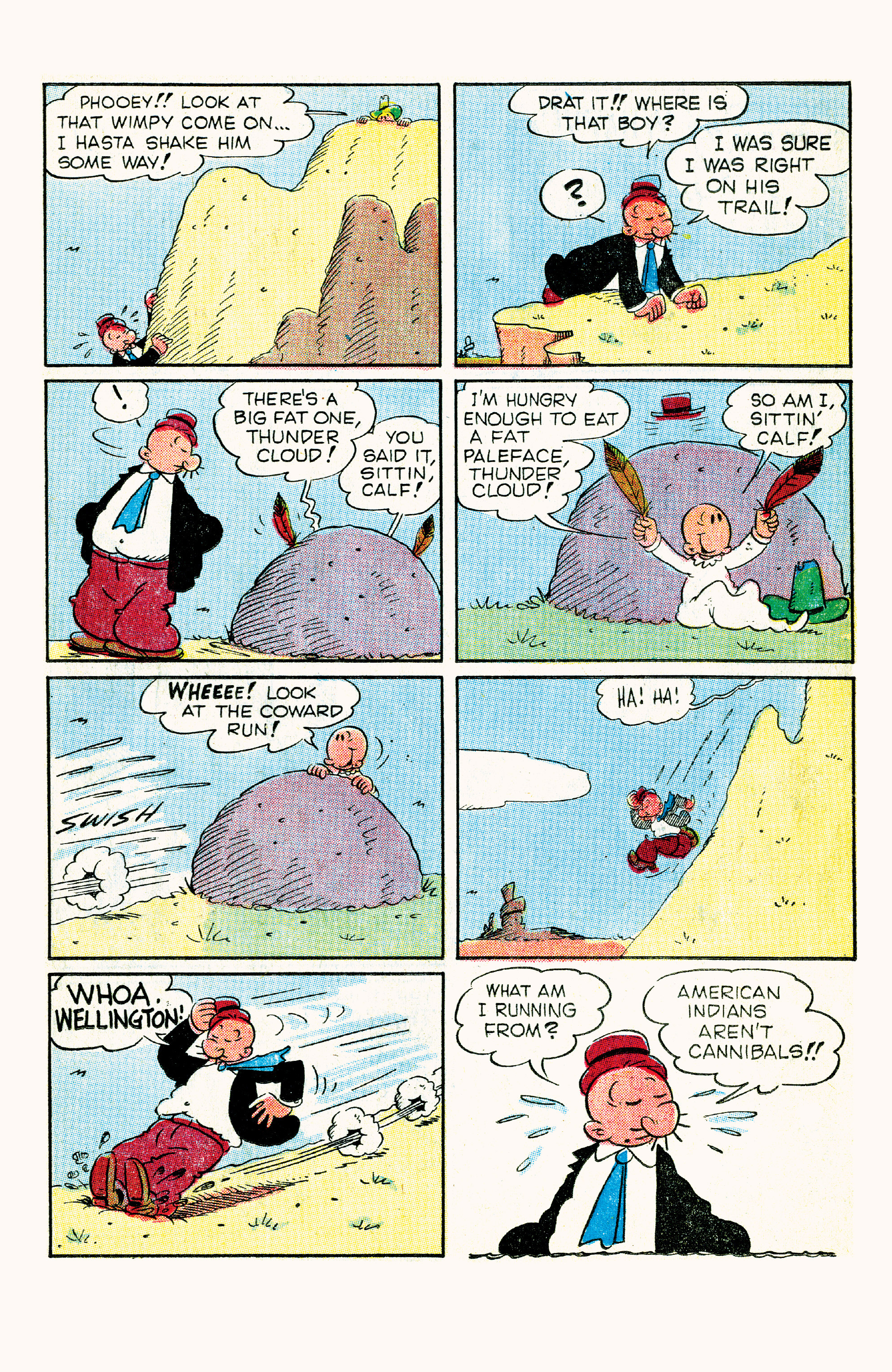 Read online Classic Popeye comic -  Issue #57 - 23