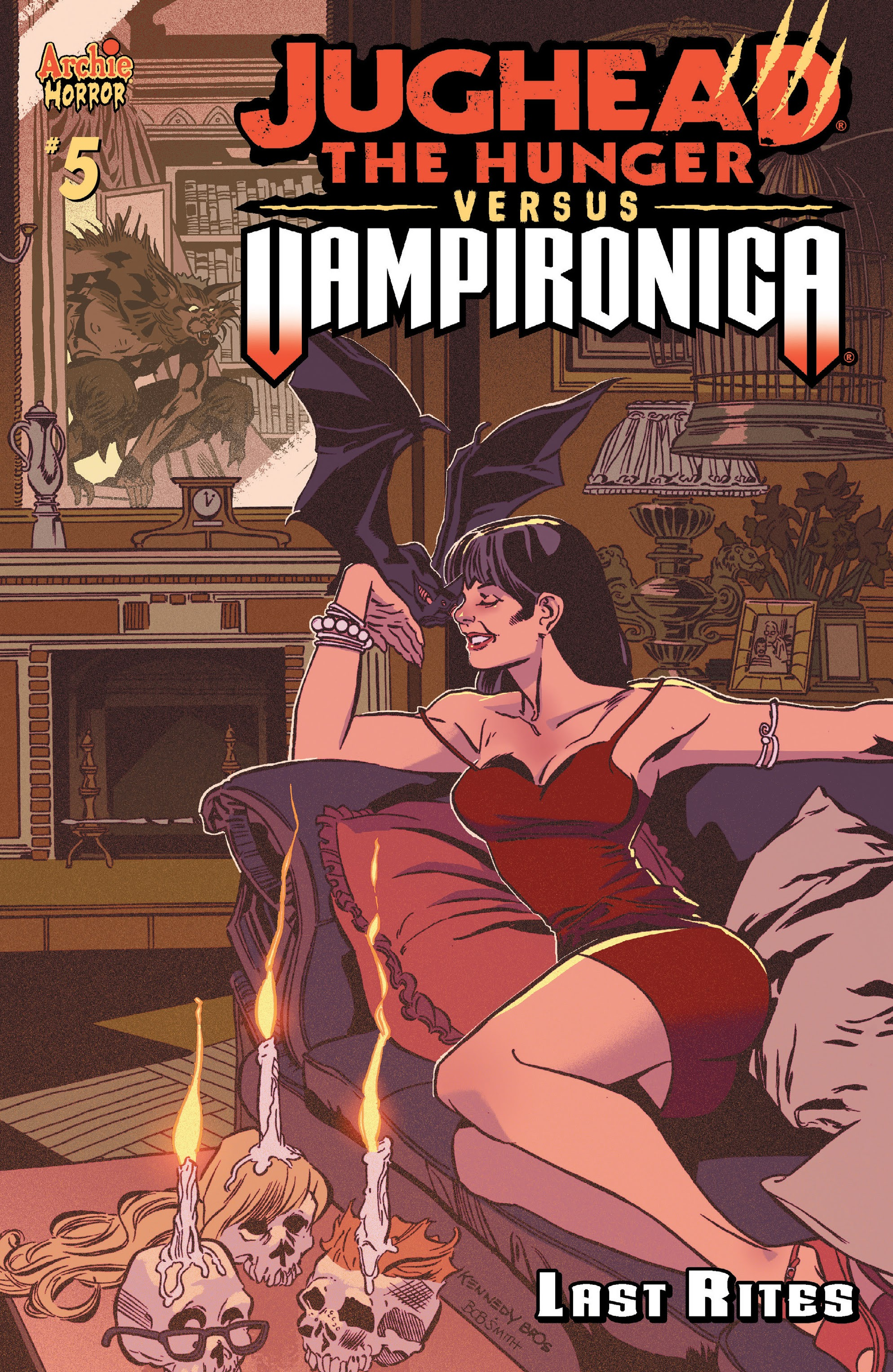 Jughead the Hunger vs. Vampironica issue 5 - Page 1