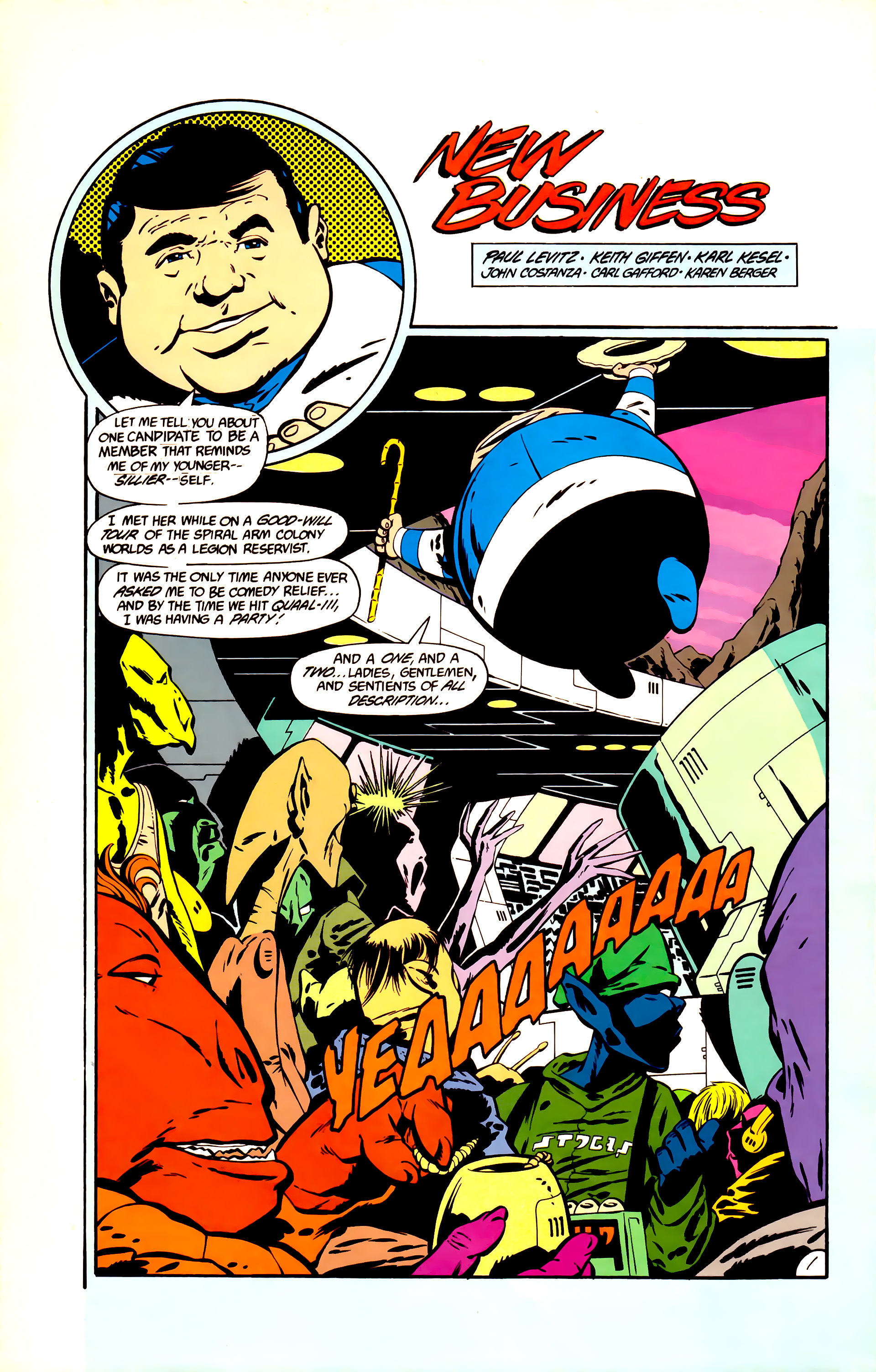 Legion of Super-Heroes (1984) 11 Page 14