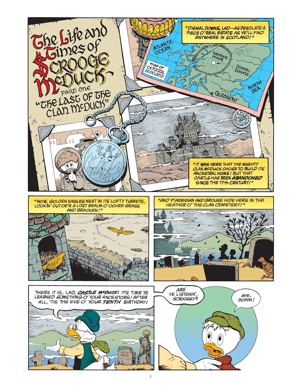Read online The Complete Life and Times of Scrooge McDuck comic -  Issue # TPB 1 (Part 1) - 10