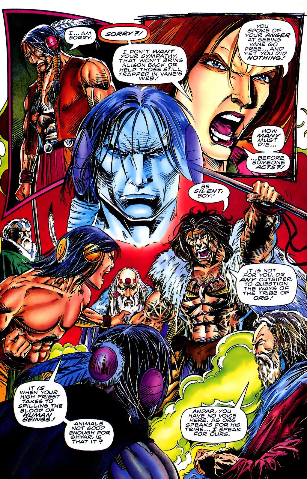 Read online Turok, Dinosaur Hunter (1993) comic -  Issue #41 - 9