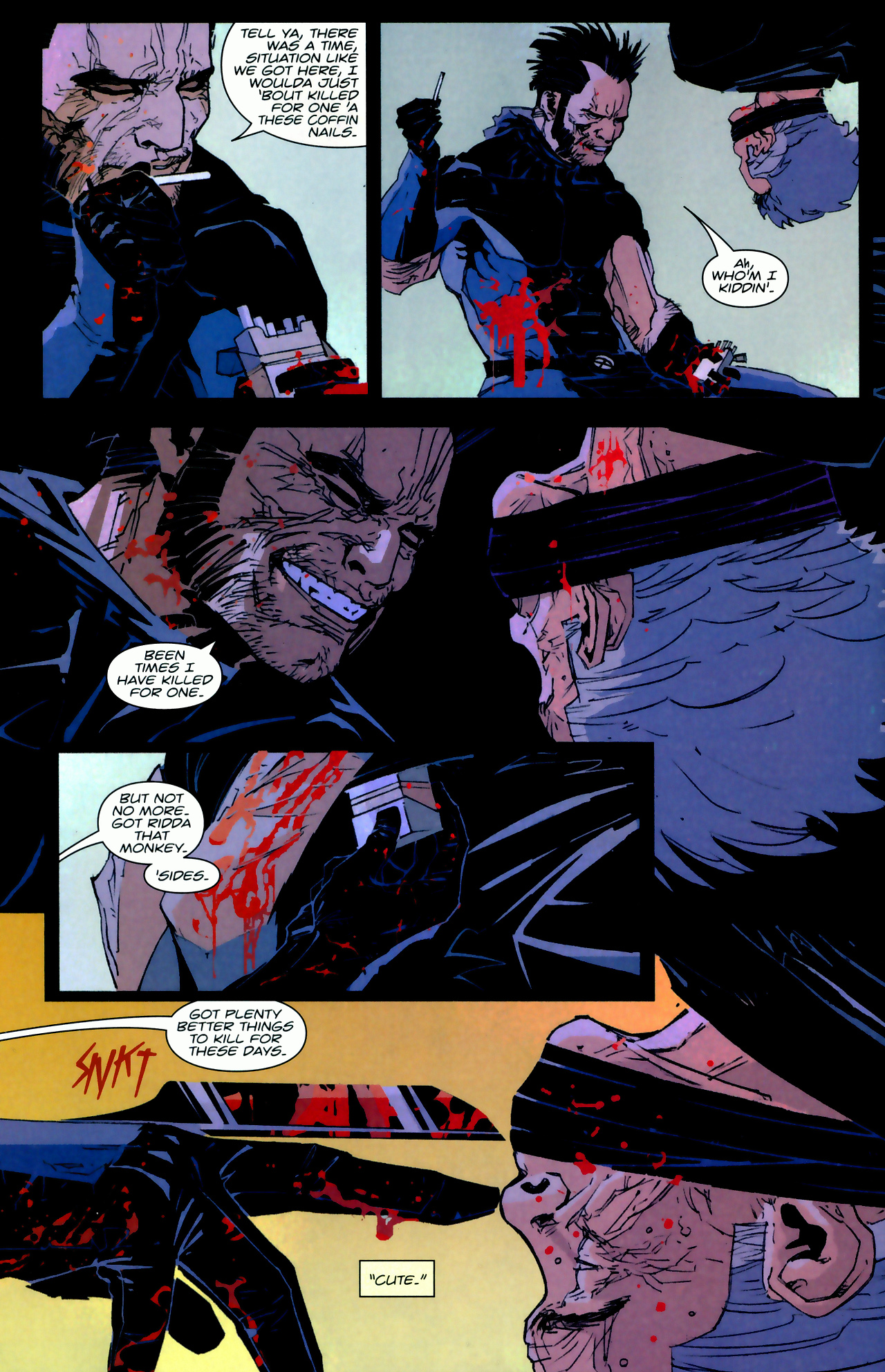 Read online X-Force Special: Ain't No Dog comic -  Issue # Full - 5