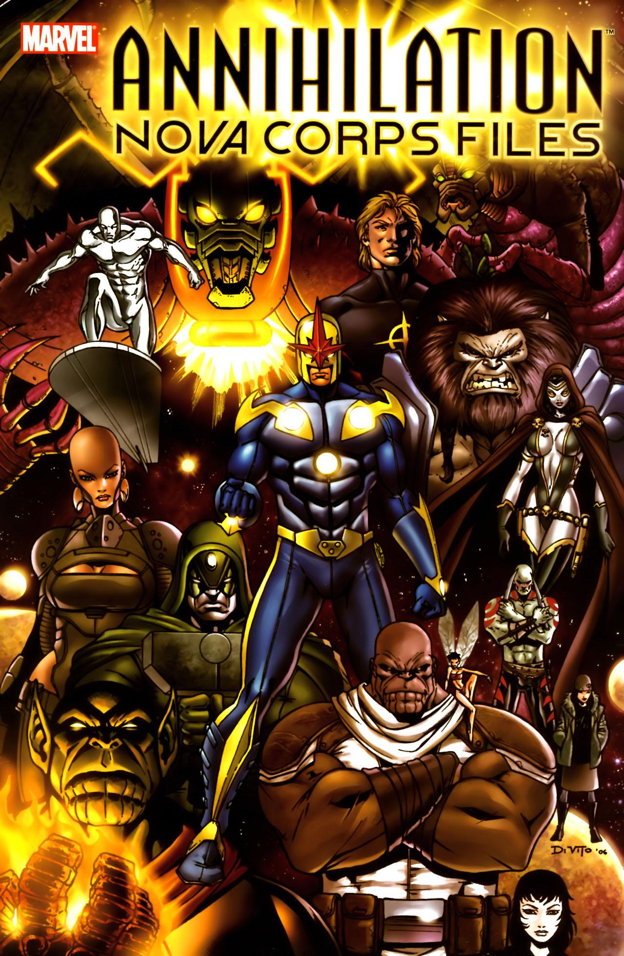 Read online Annihilation:  The  Nova Corps Files comic -  Issue #Annihilation:  The  Nova Corps Files Full - 1