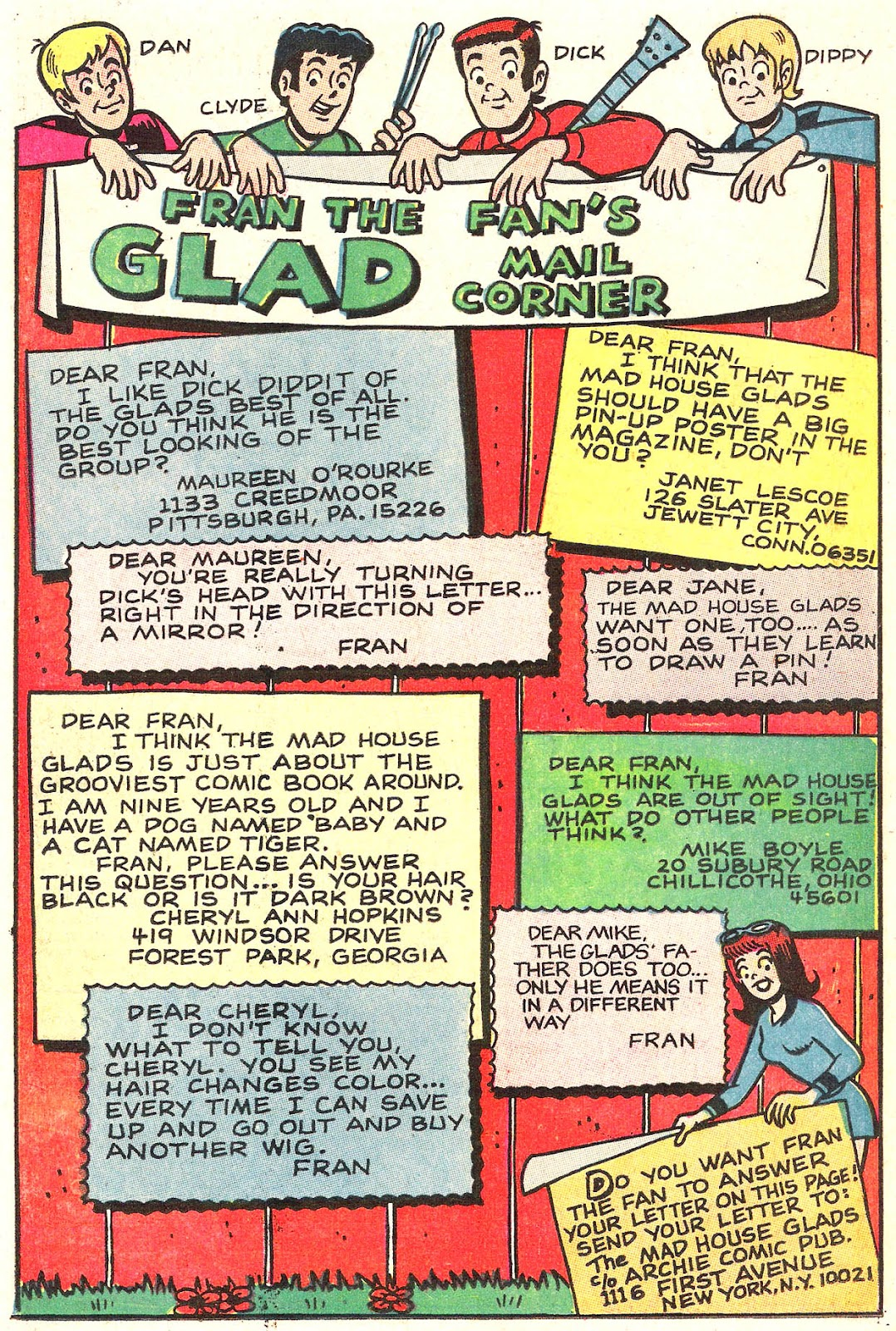 Read online The Mad House Glads comic -  Issue #76 - 25
